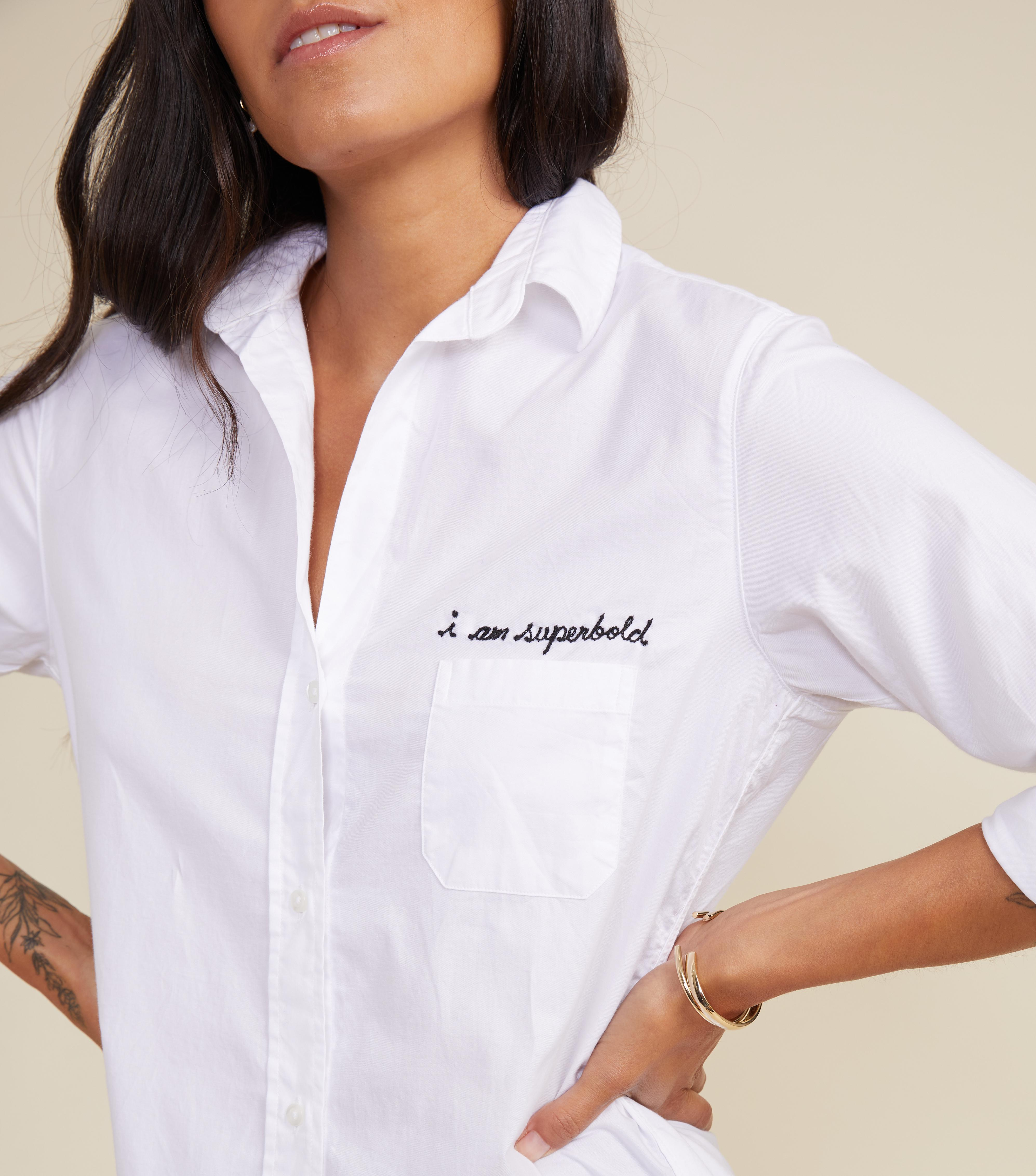 The Hero Button-Up Shirt Bold, Brushed Cotton 2