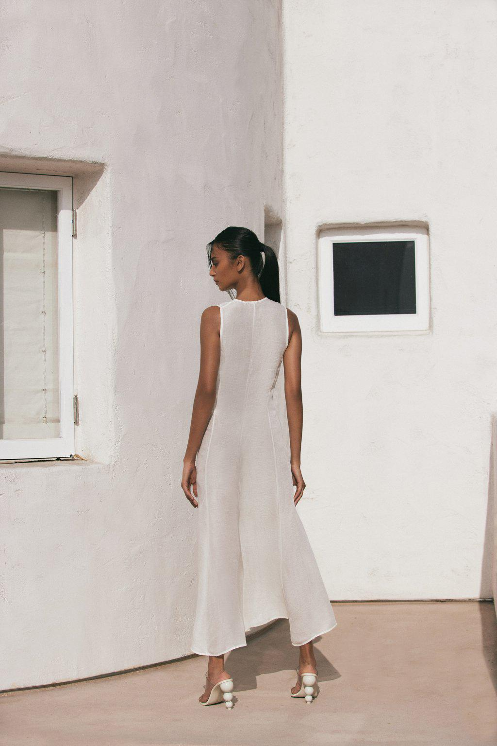 SOLENE COVER UP - OFF WHITE 1