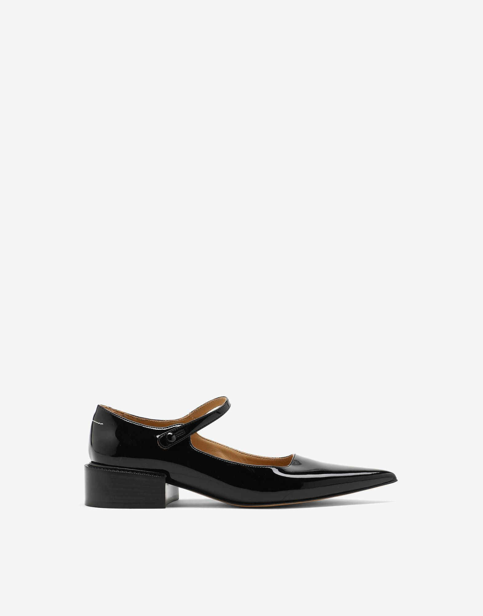 Patent Mary-Jane shoes