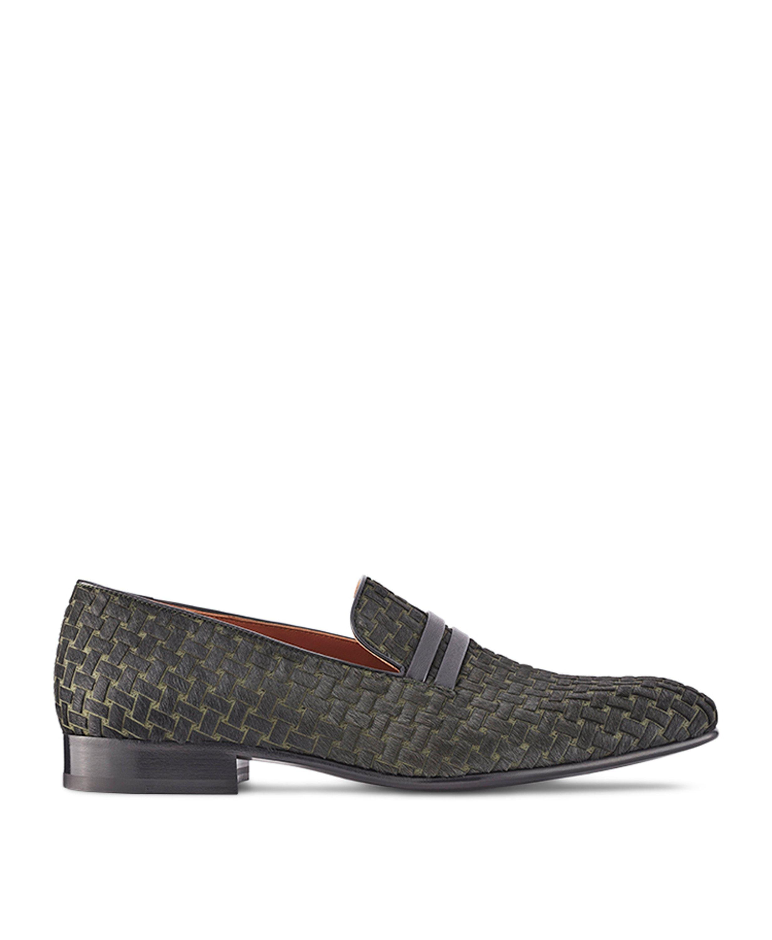 MILES MILITARY GREEN LOAFERS
