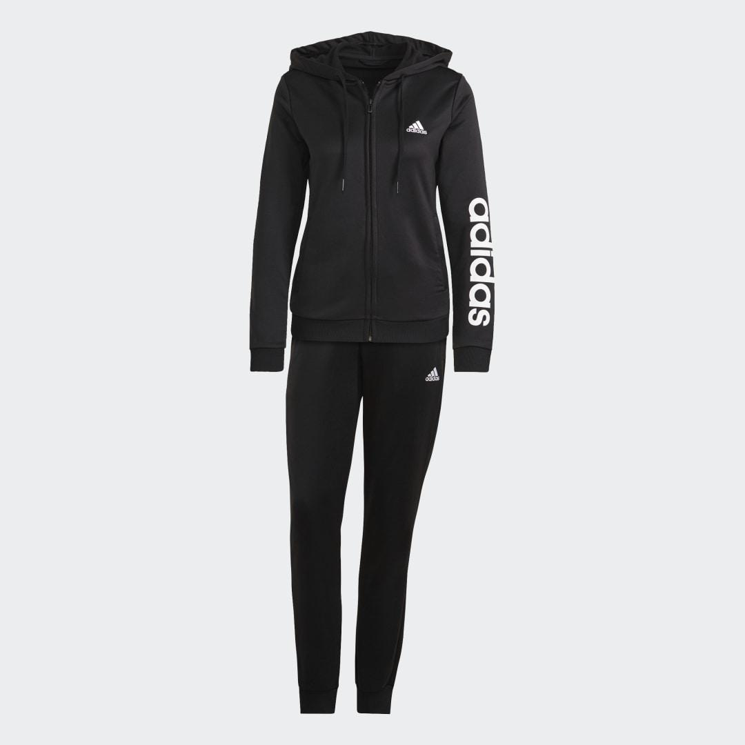 Essentials Logo French Terry Track Suit Black 6