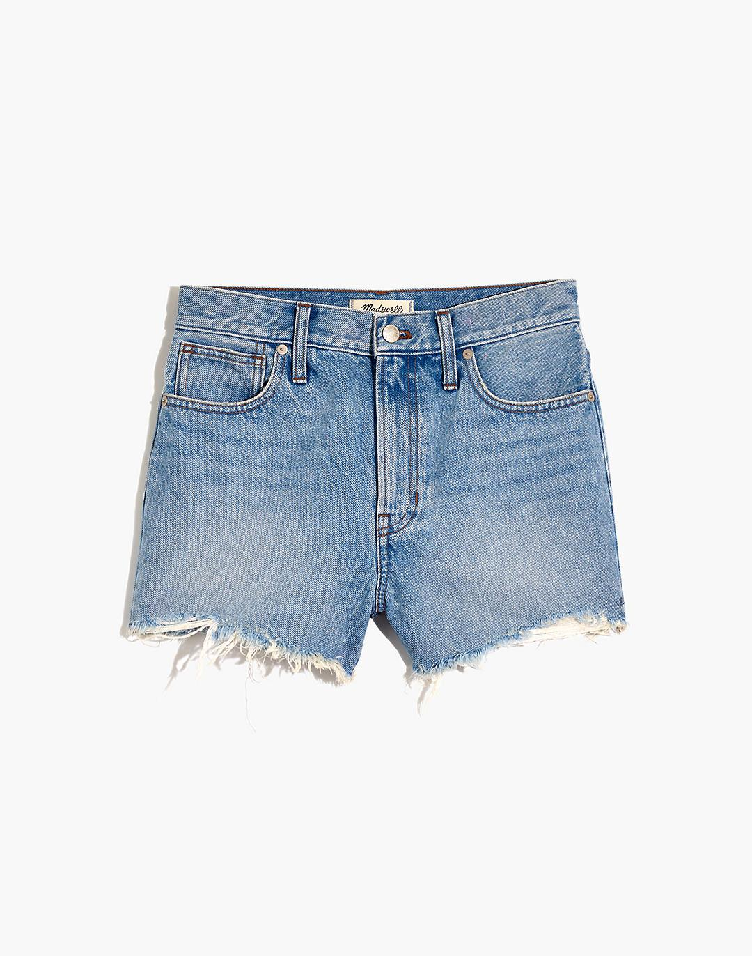 The Perfect Jean Short in Hedrick Wash 4