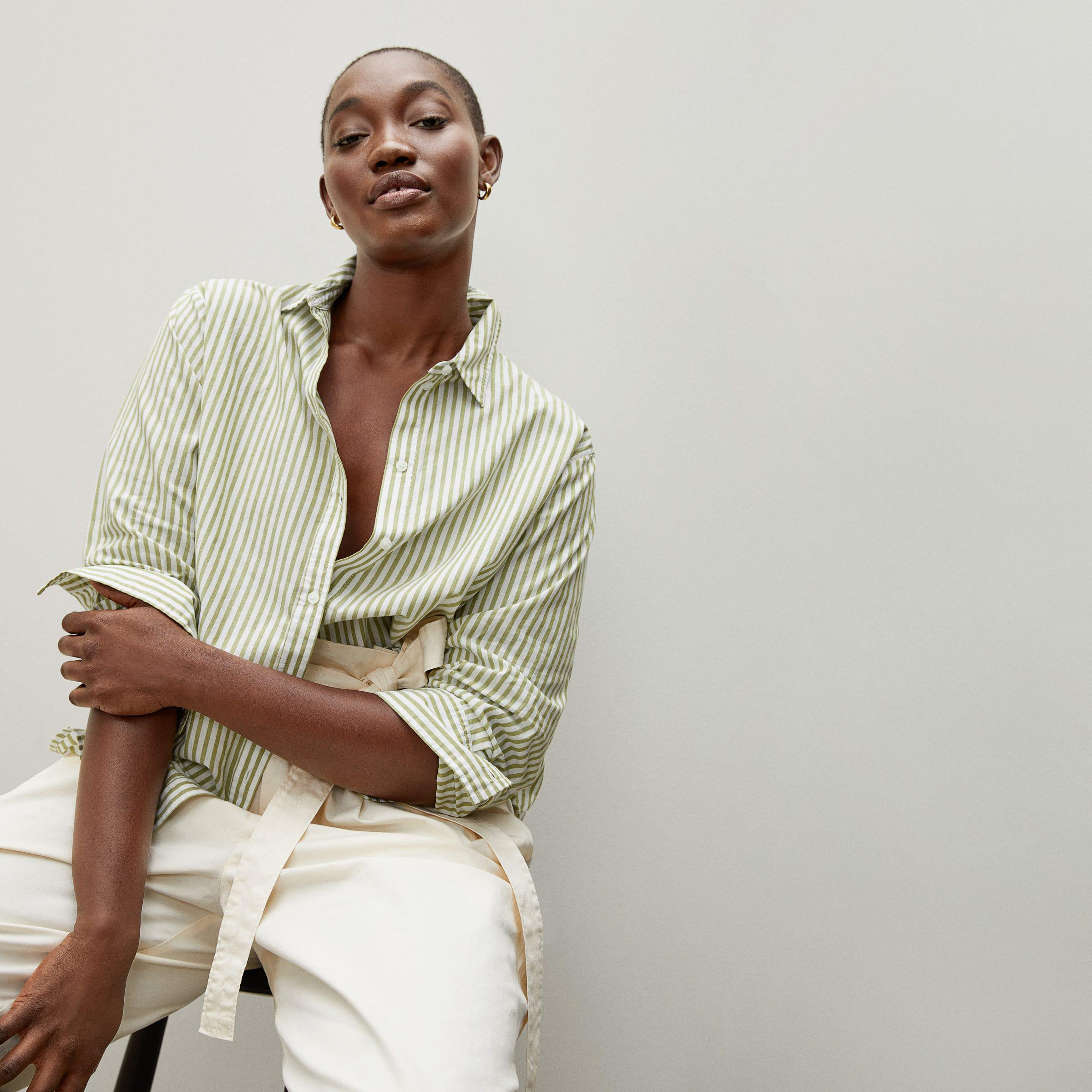 The Silky Cotton Relaxed Shirt 1