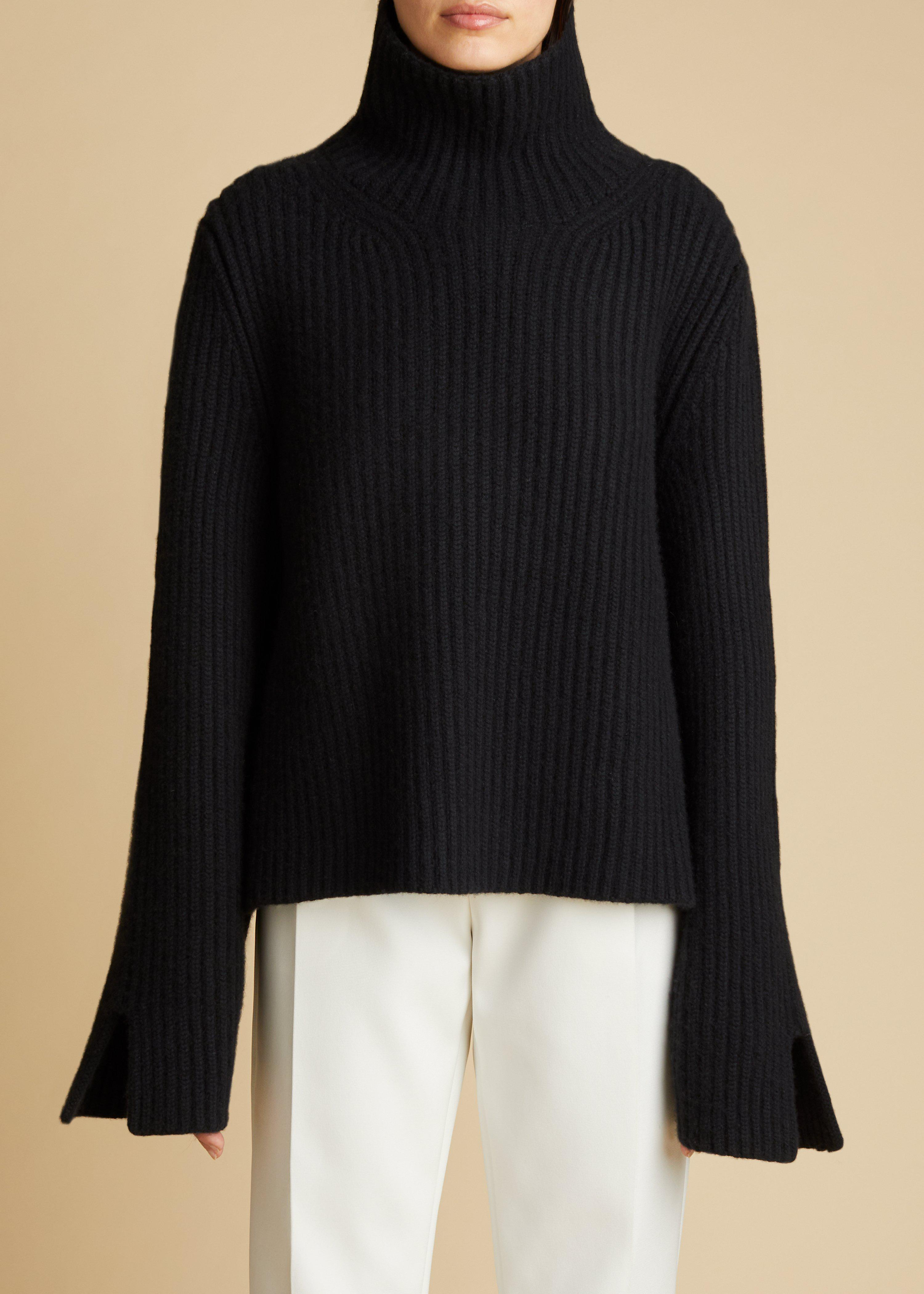 The Molly Sweater in Black
