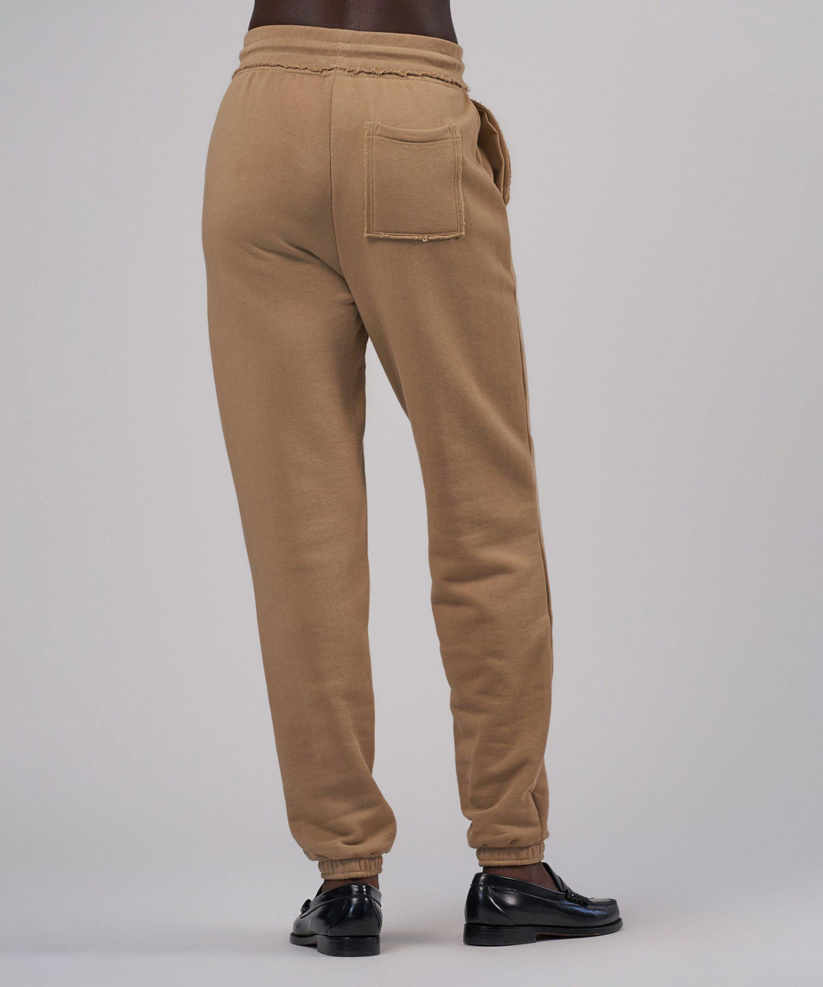 French Terry Pull-On Pant - Dune 2