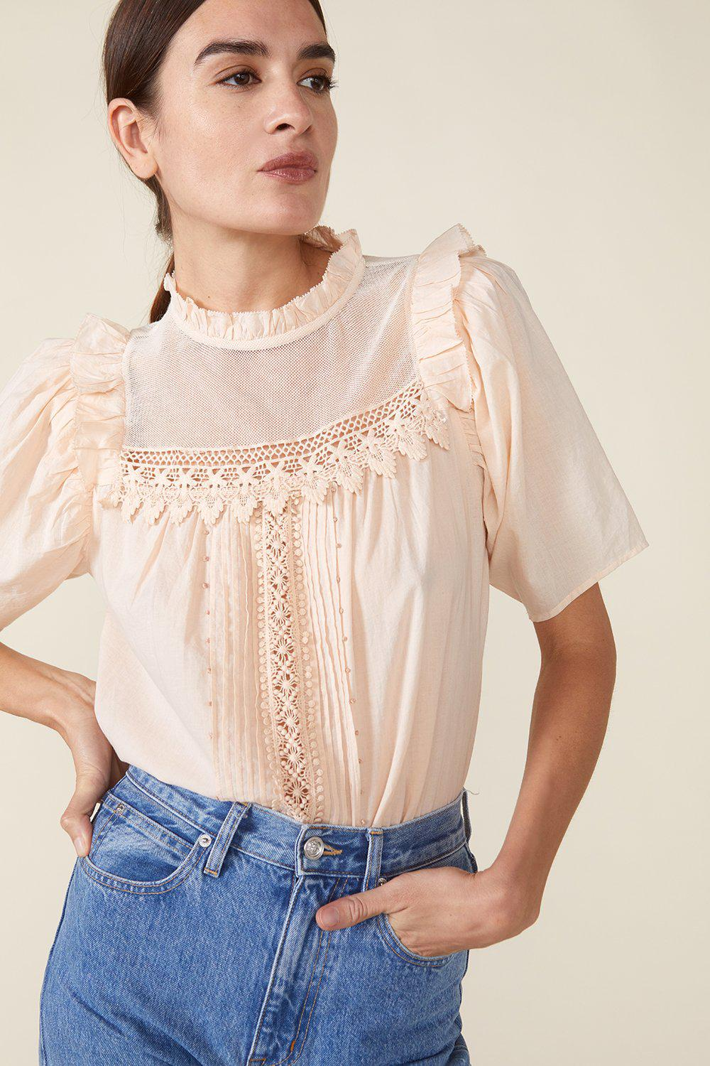 MAISIE TOP, ROSEWATER