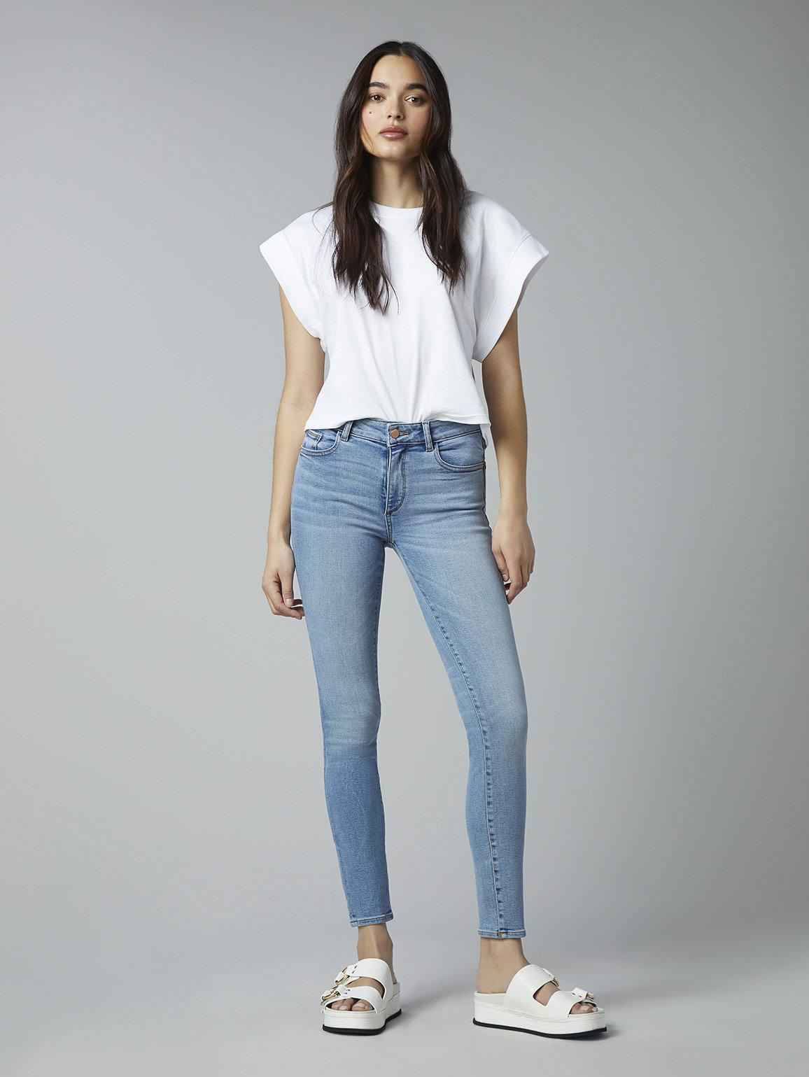 Florence Skinny Mid Rise Instasculpt Ankle | Cloud