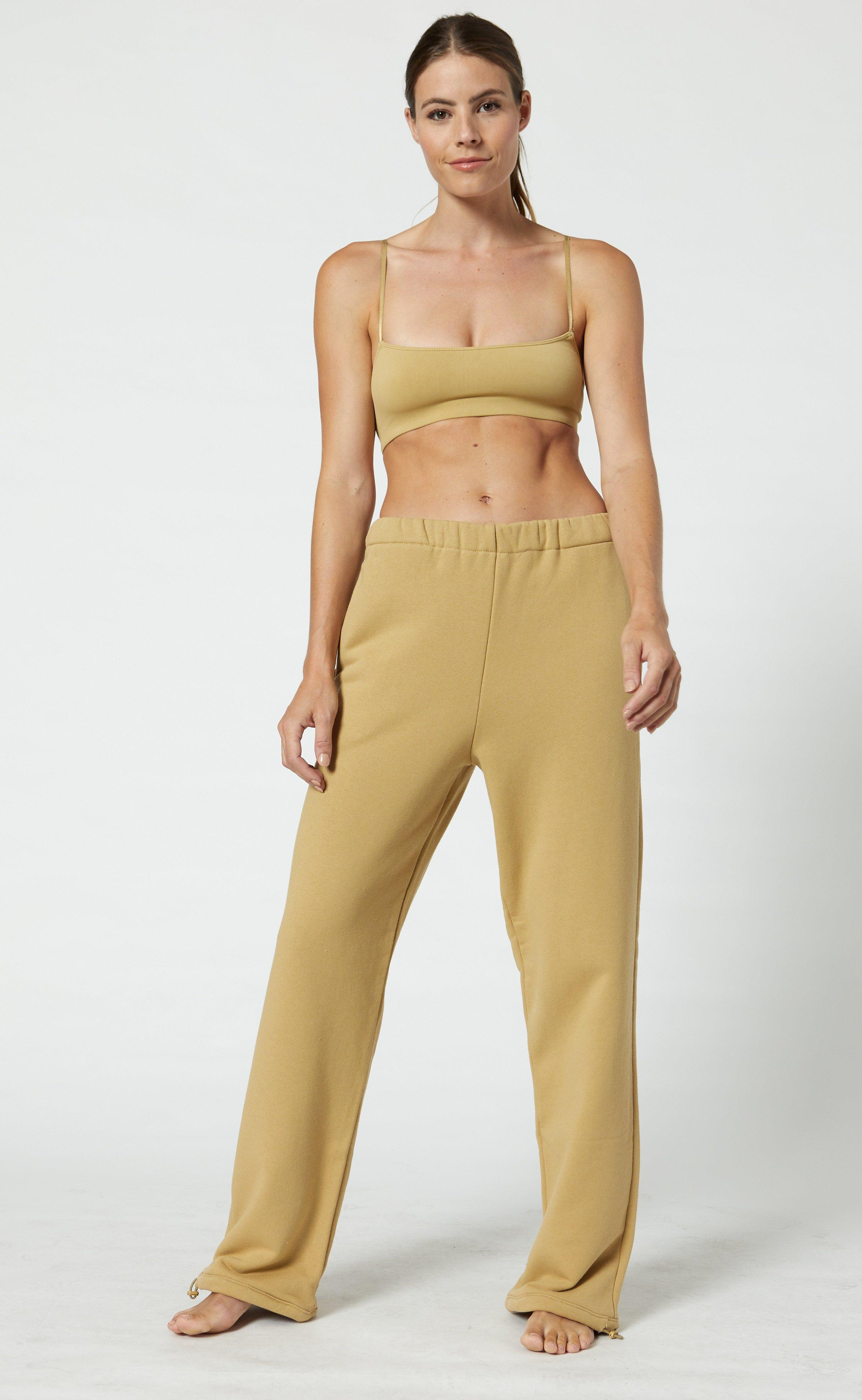 French Terry High Waisted Sweatpants 1