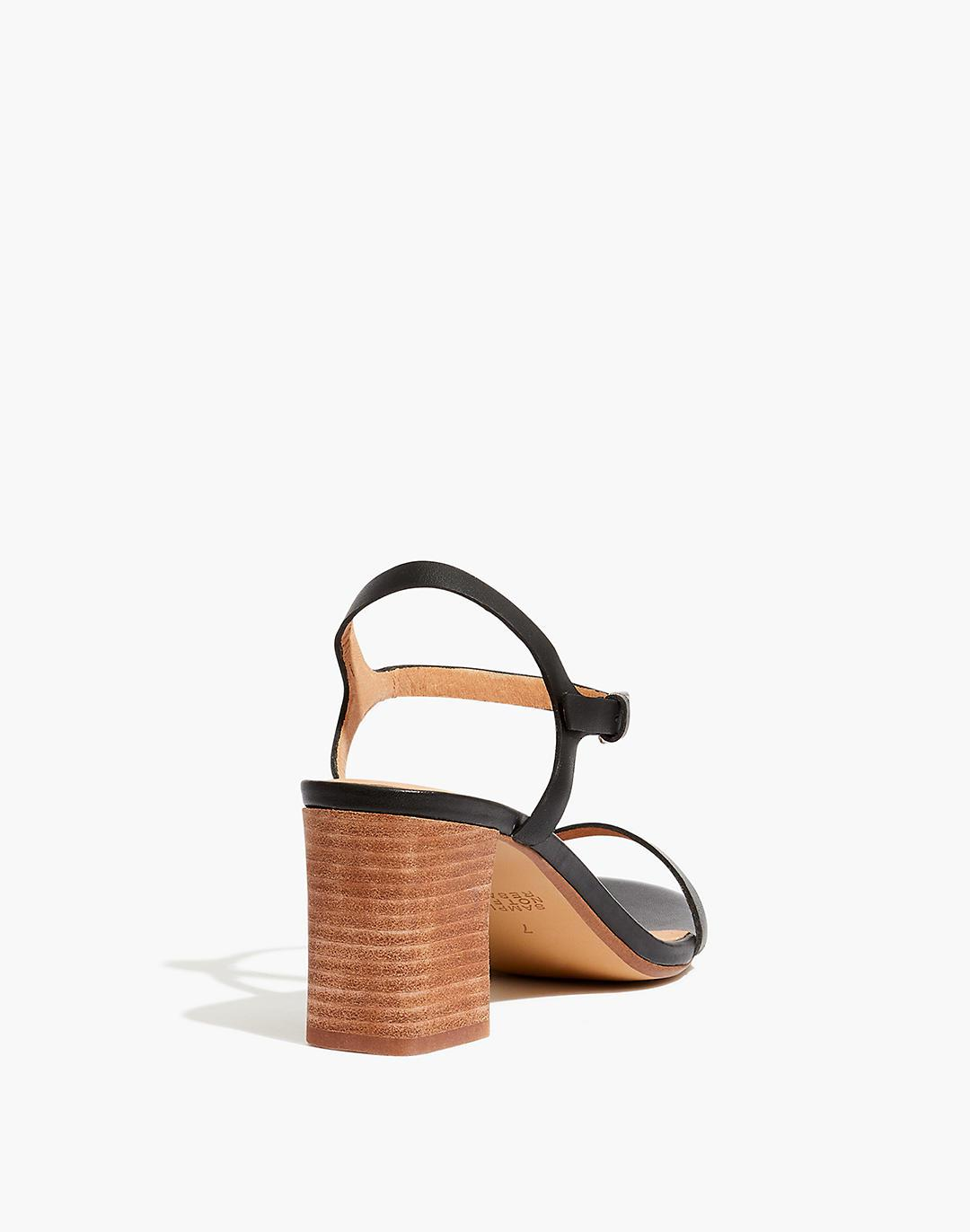 The Holly Ankle-Strap Sandal in Leather 2