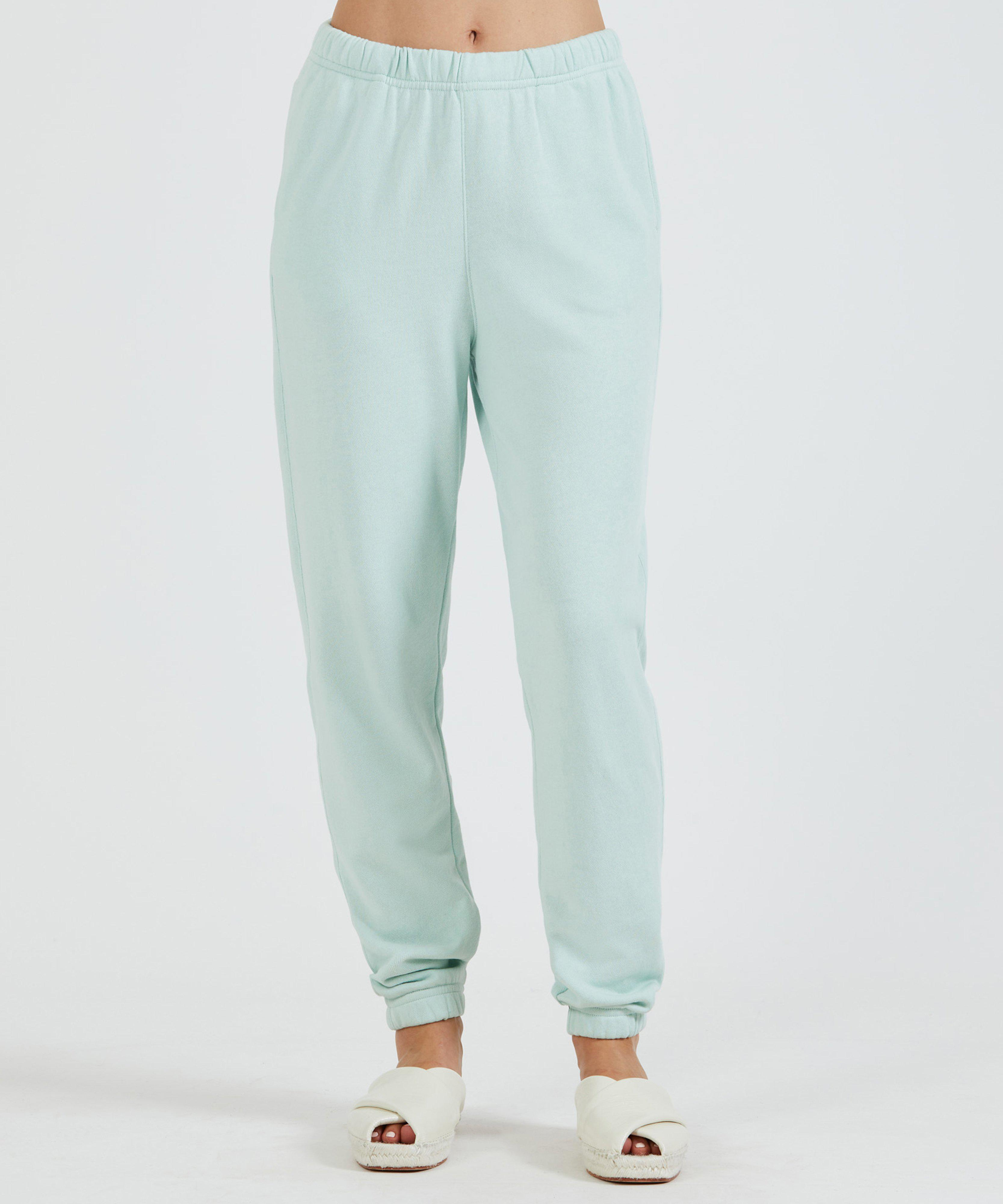 French Terry Pull-On Pant - Mint
