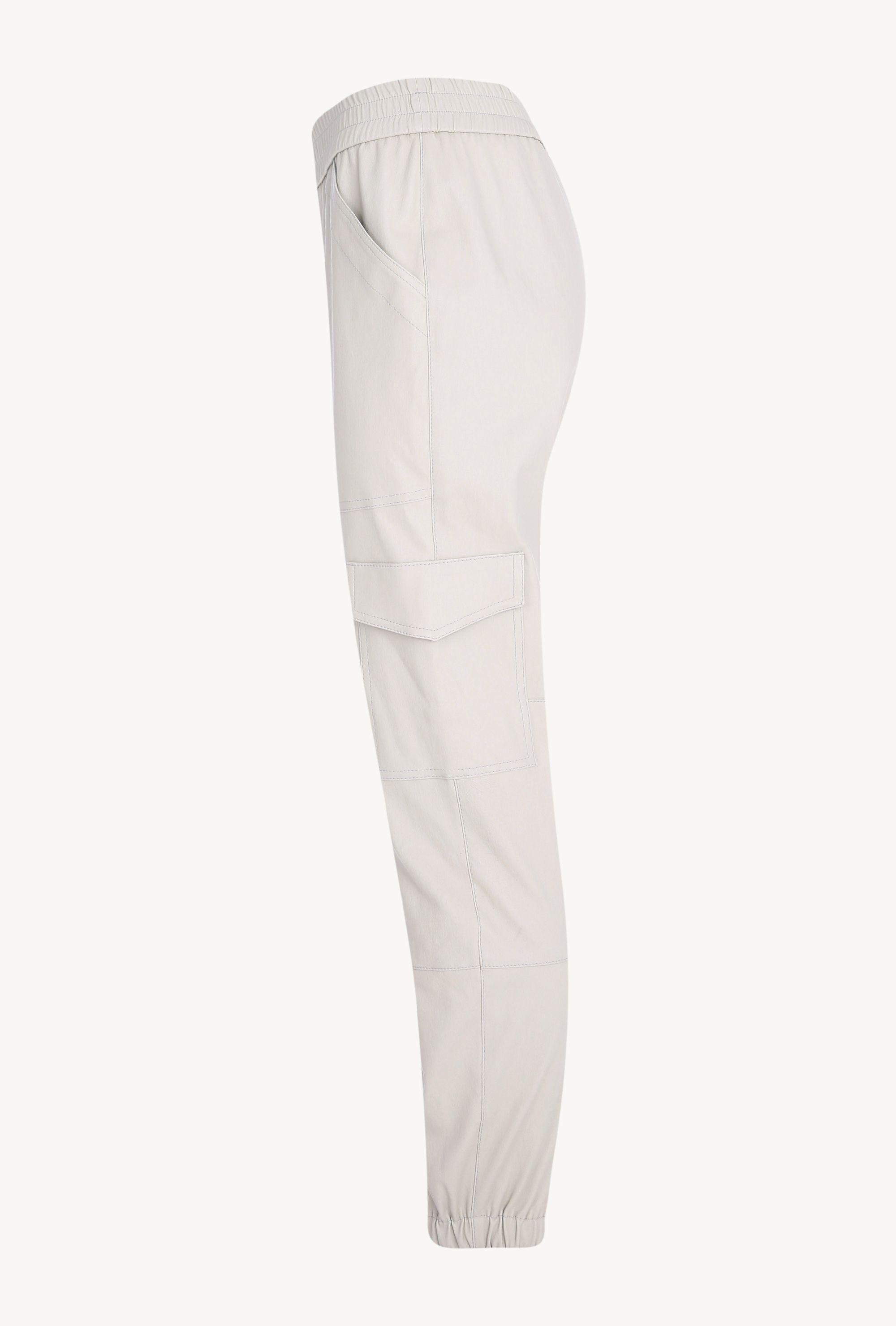Off White Leather Cargo Jogger 4