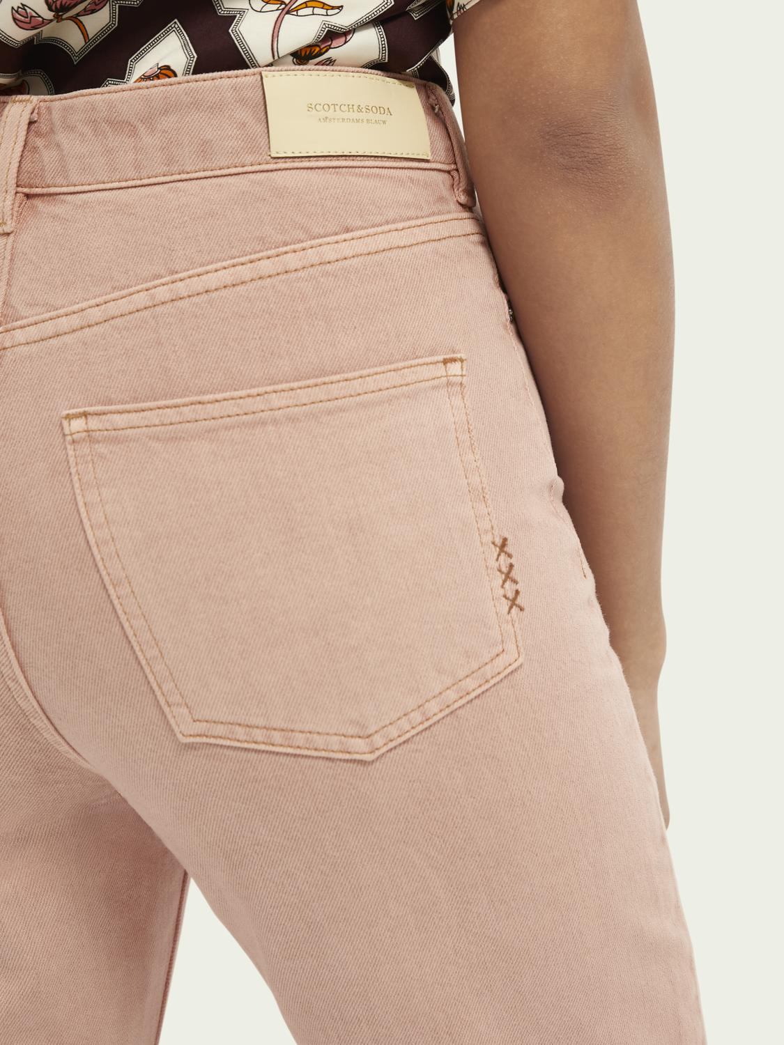 Tailored cotton jeans — Pastel Dyes 4