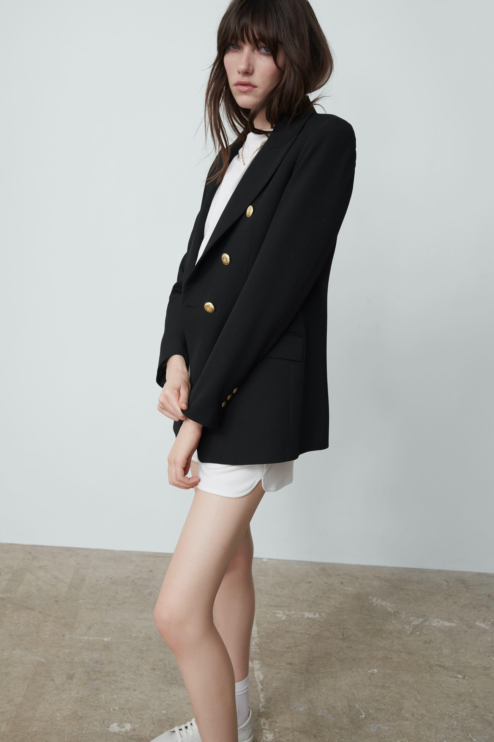 TAILORED DOUBLE BREASTED BLAZER 1