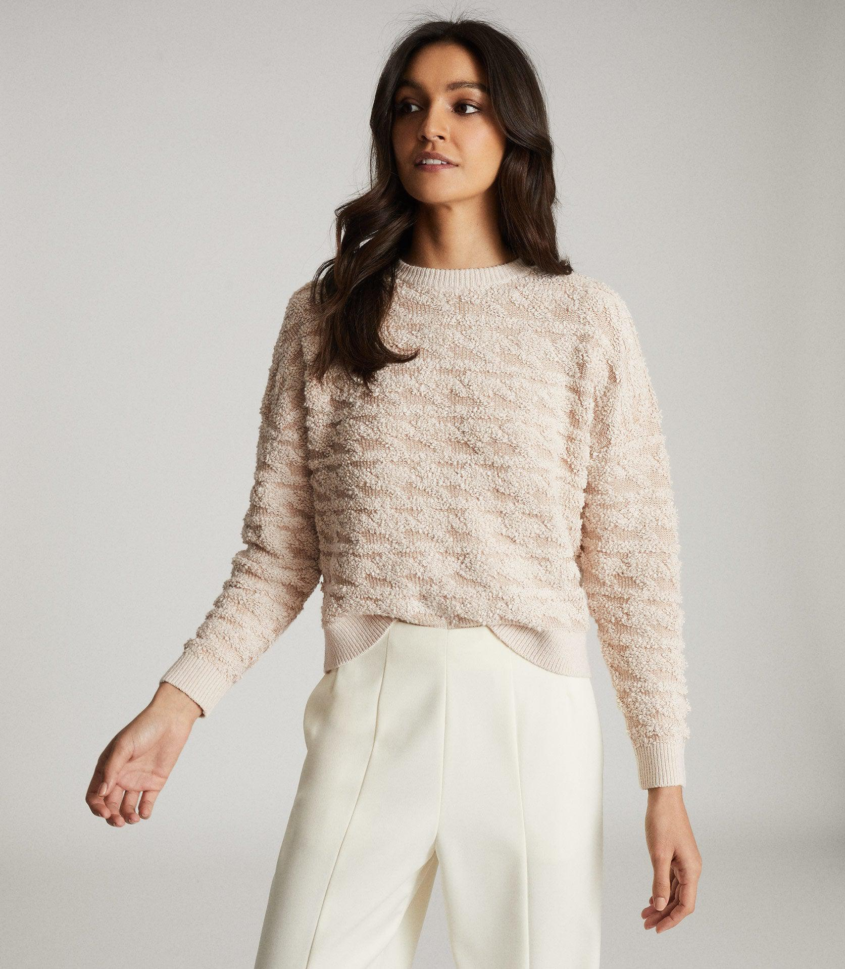 OTTO - TEXTURED PATTERNED JUMPER 1
