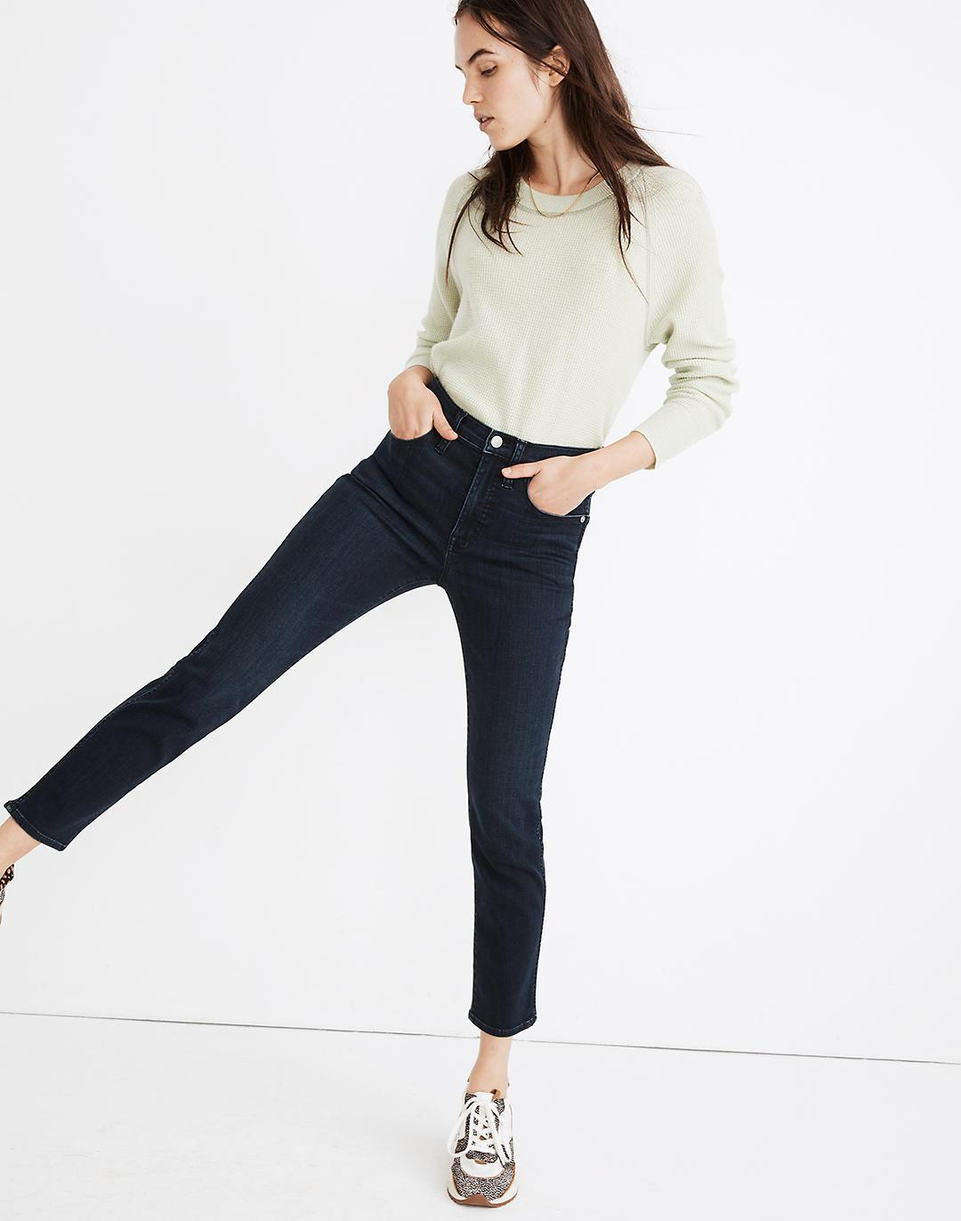 Tall Stovepipe Jeans in Macintosh Wash: TENCEL™ Denim Edition