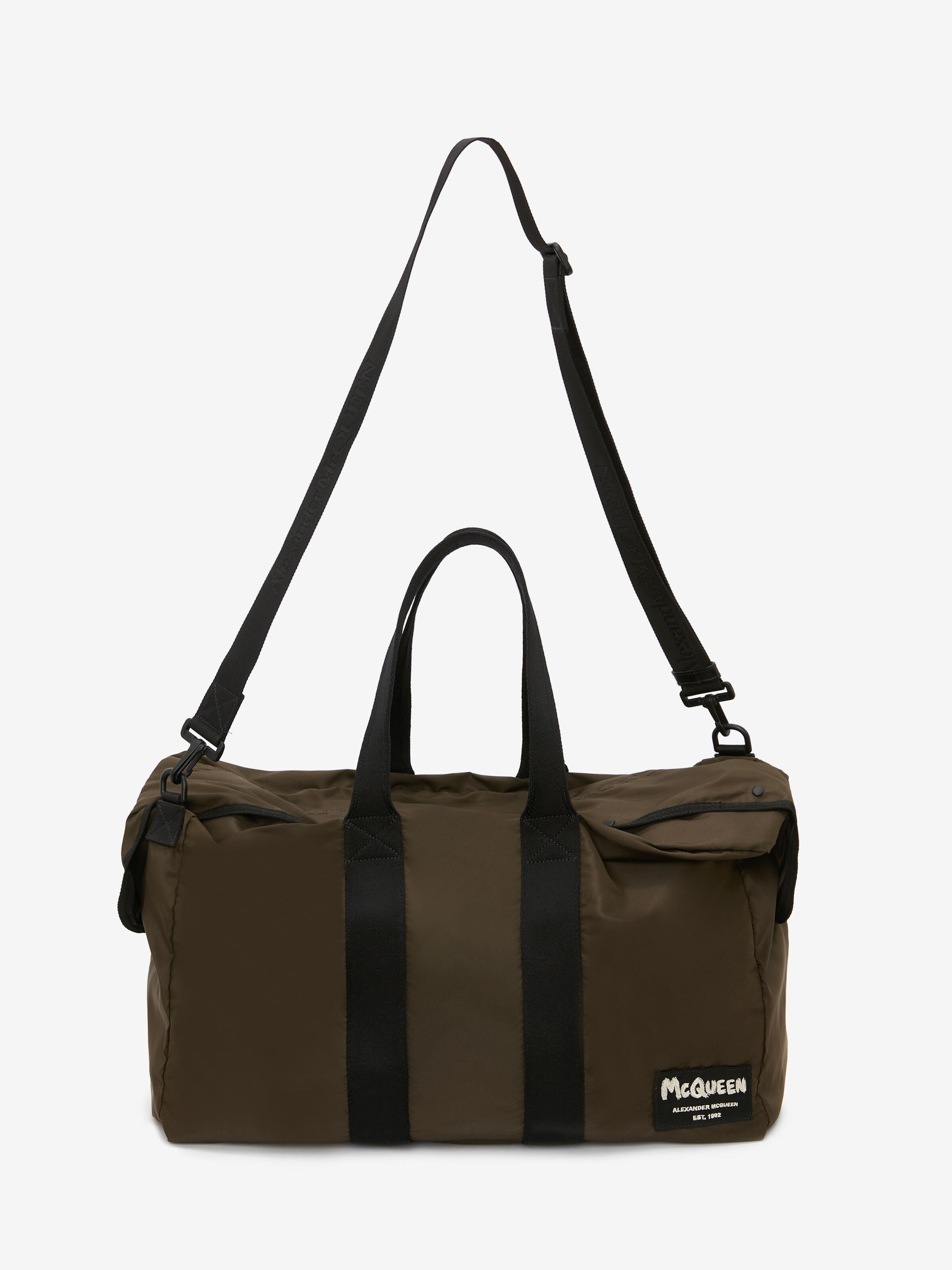 McQueen Tag Zipped Tote 4