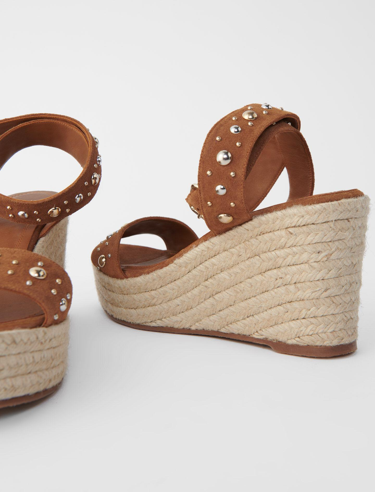 WEDGE SANDALS WITH SUEDE STRAPS 5