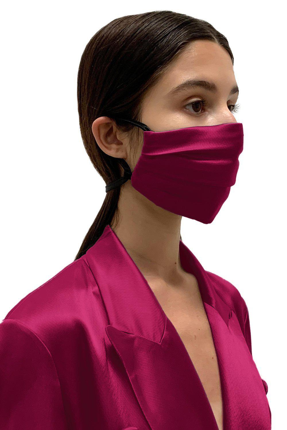 Mulberry Satin Face Mask 1