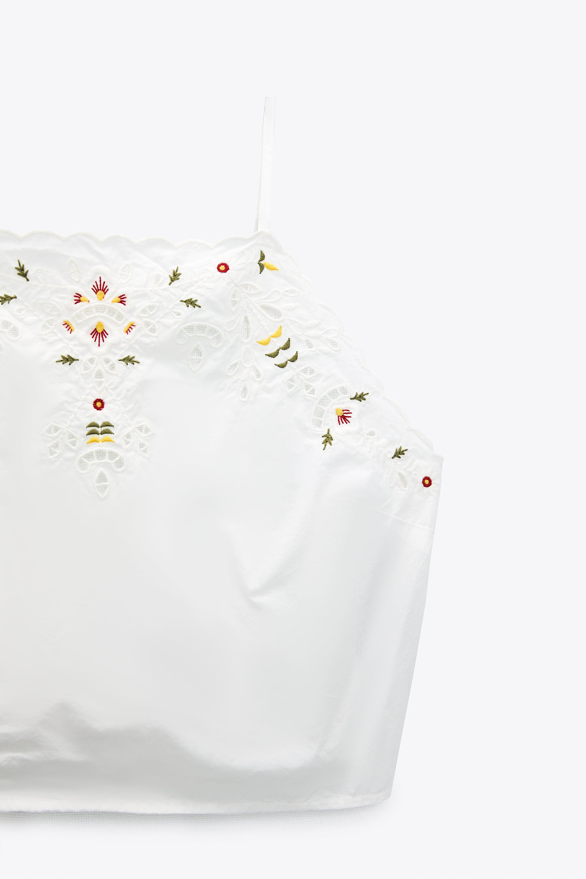EMBROIDERED CAMISOLE 6
