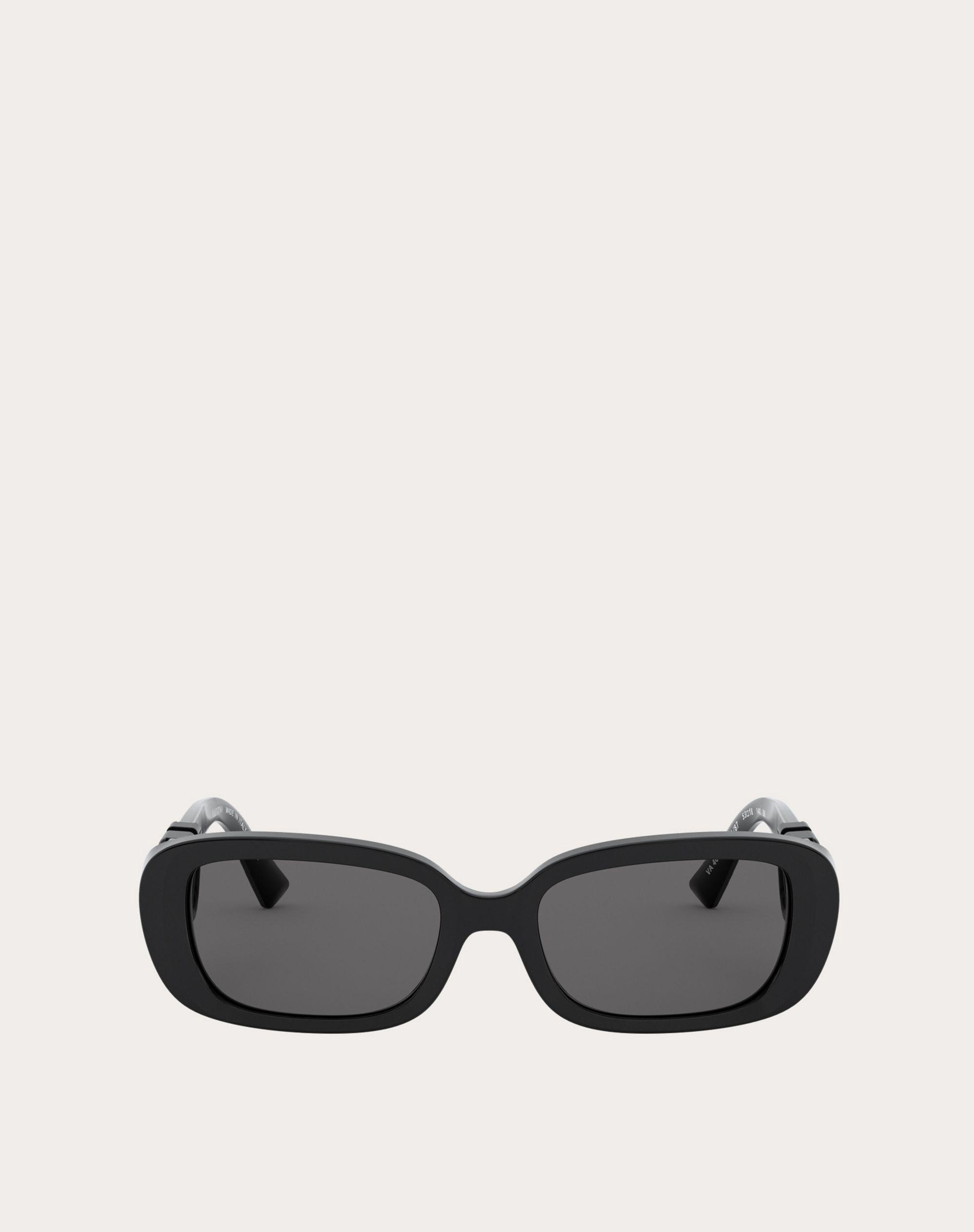 OVAL ACETATE FRAME WITH Vlogo Signature