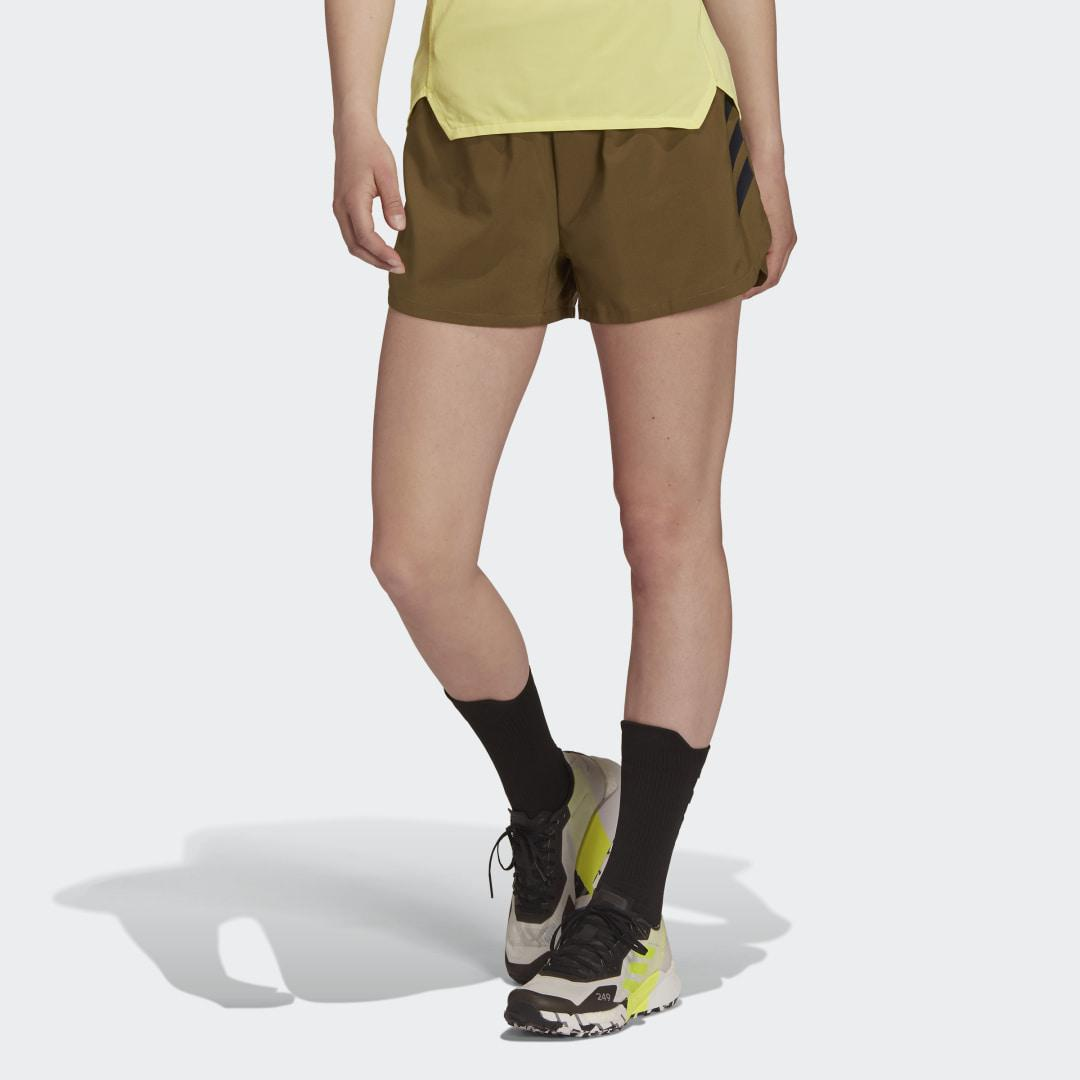 Terrex Parley Agravic All-Around Shorts Focus Olive