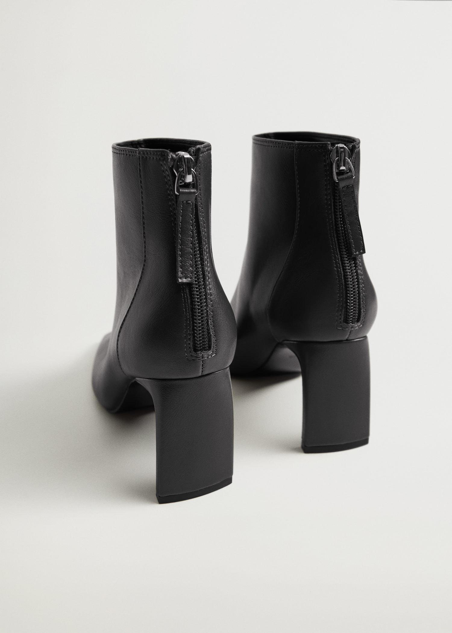 Squared-toe ankle boots 2