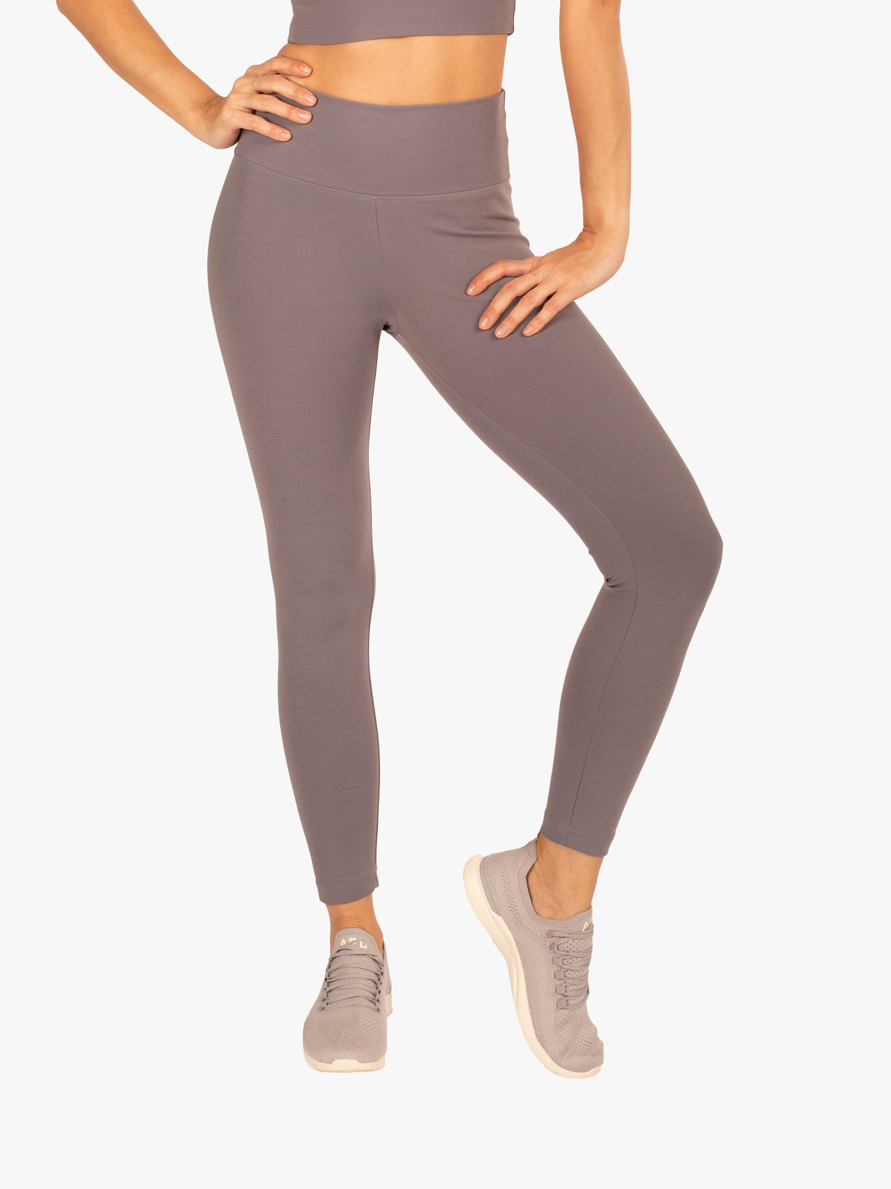 Exceed High Rise Blackout Legging - Volcanic Glass