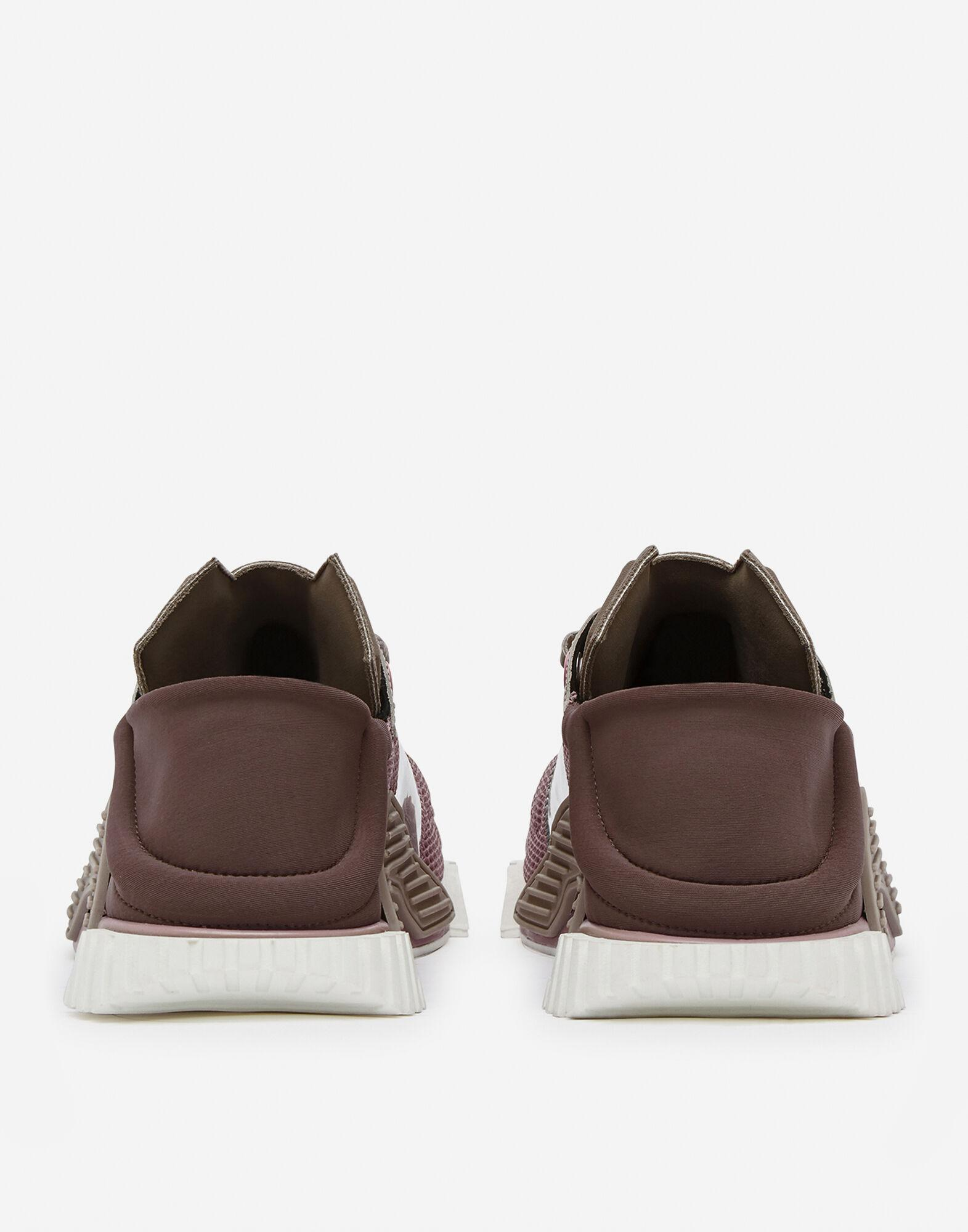 NS1 slip on sneakers in mixed materials 2