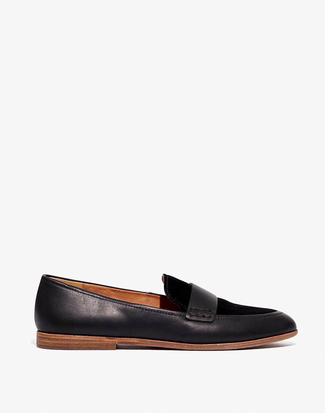 The Alex Loafer in Leather and Suede 1