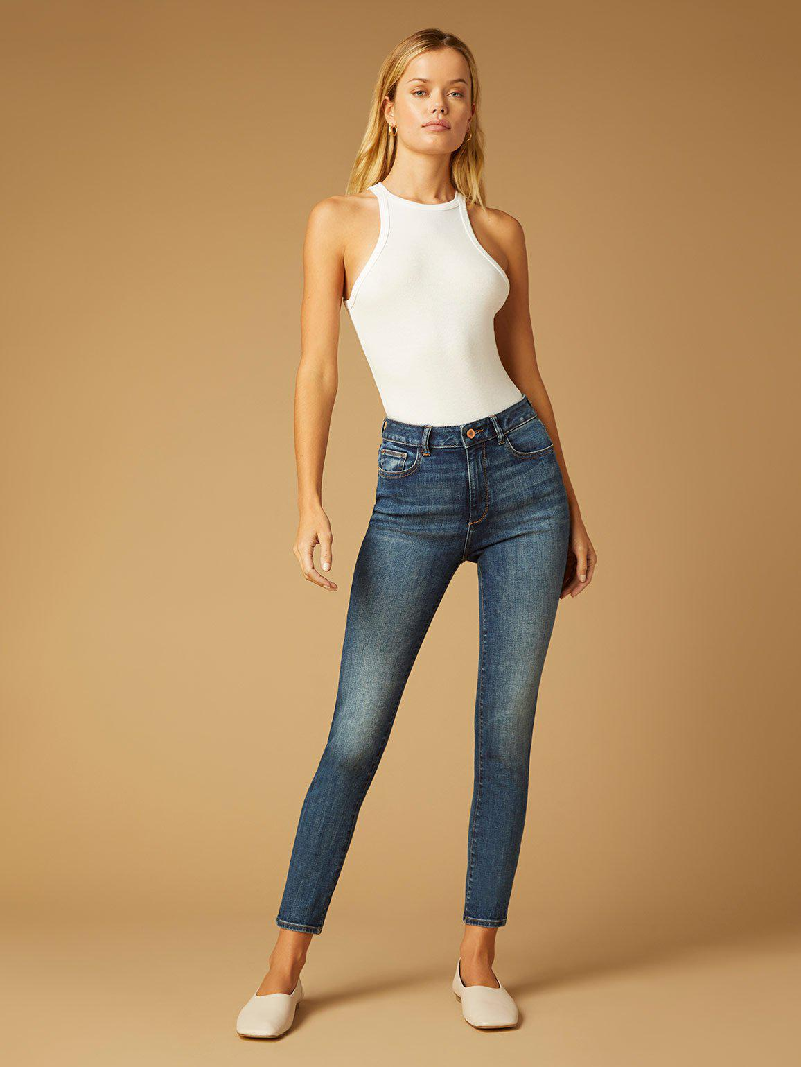 Farrow Skinny High Rise Instasculpt Ankle | Rogers