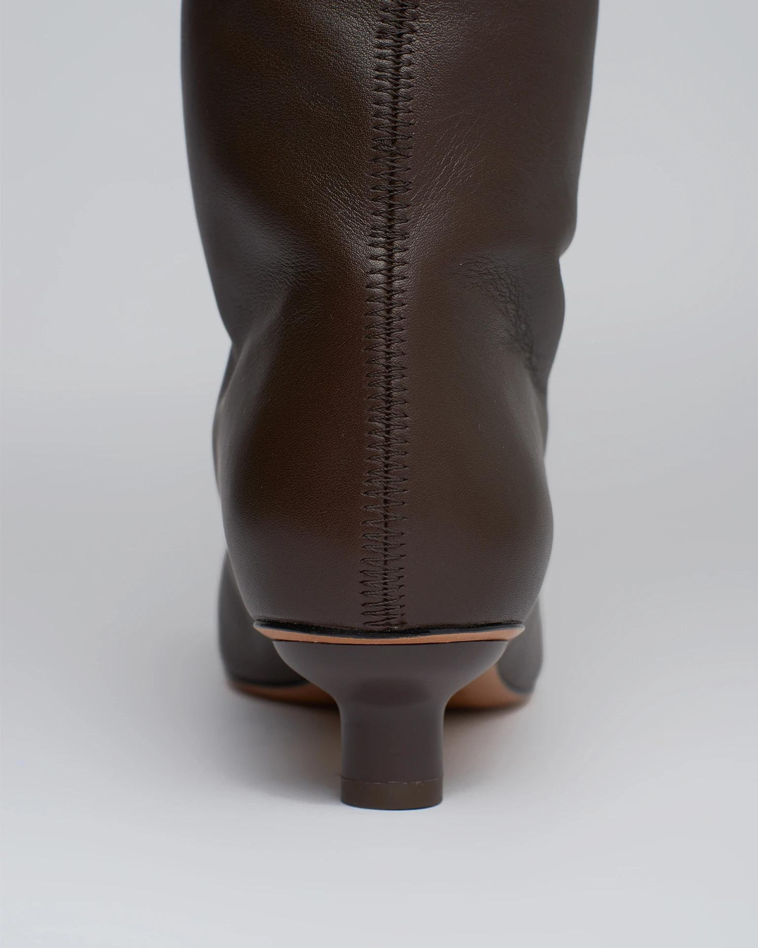 PIPPA - Leather knee-boots - Java 1