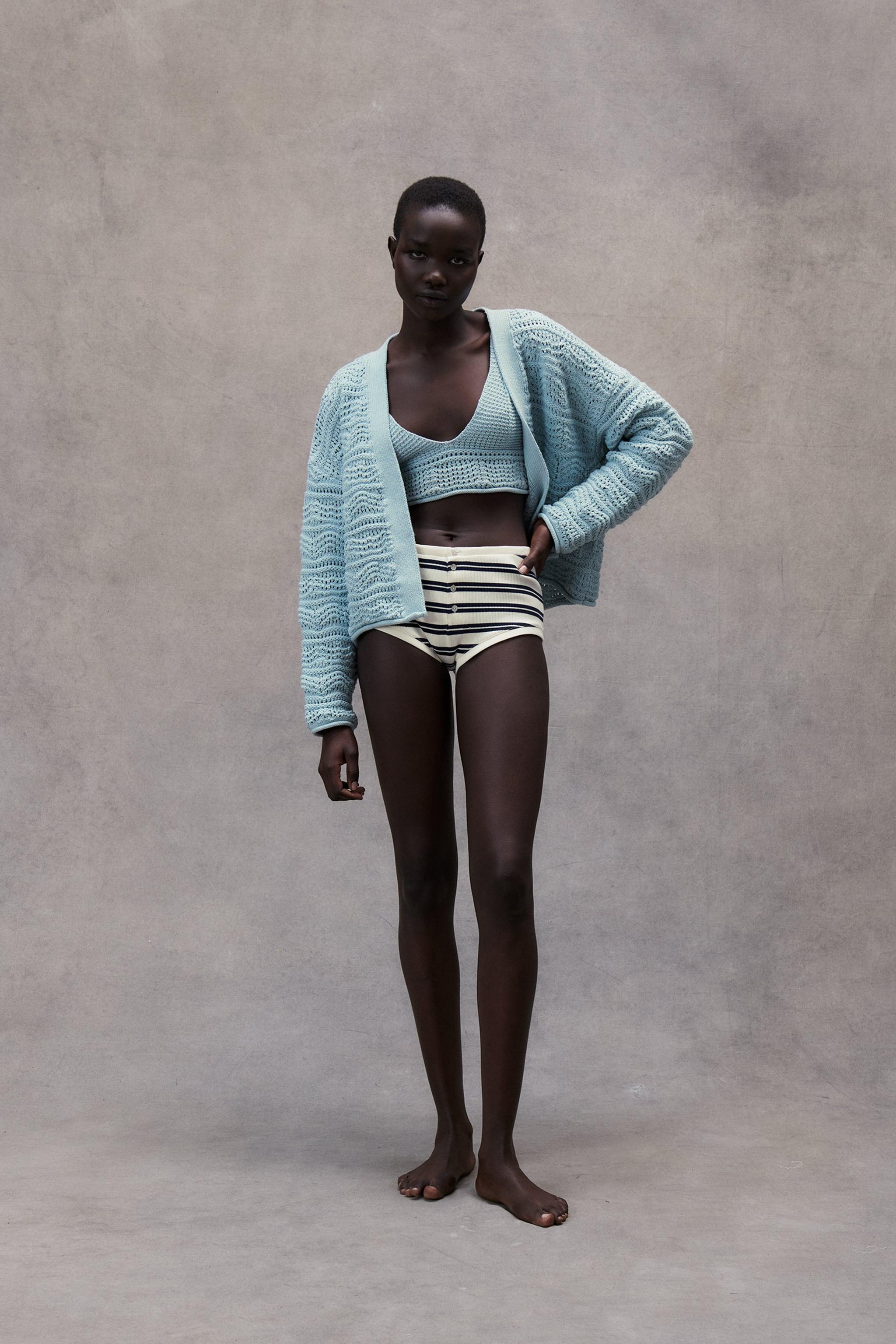 STRUCTURED KNIT JACKET