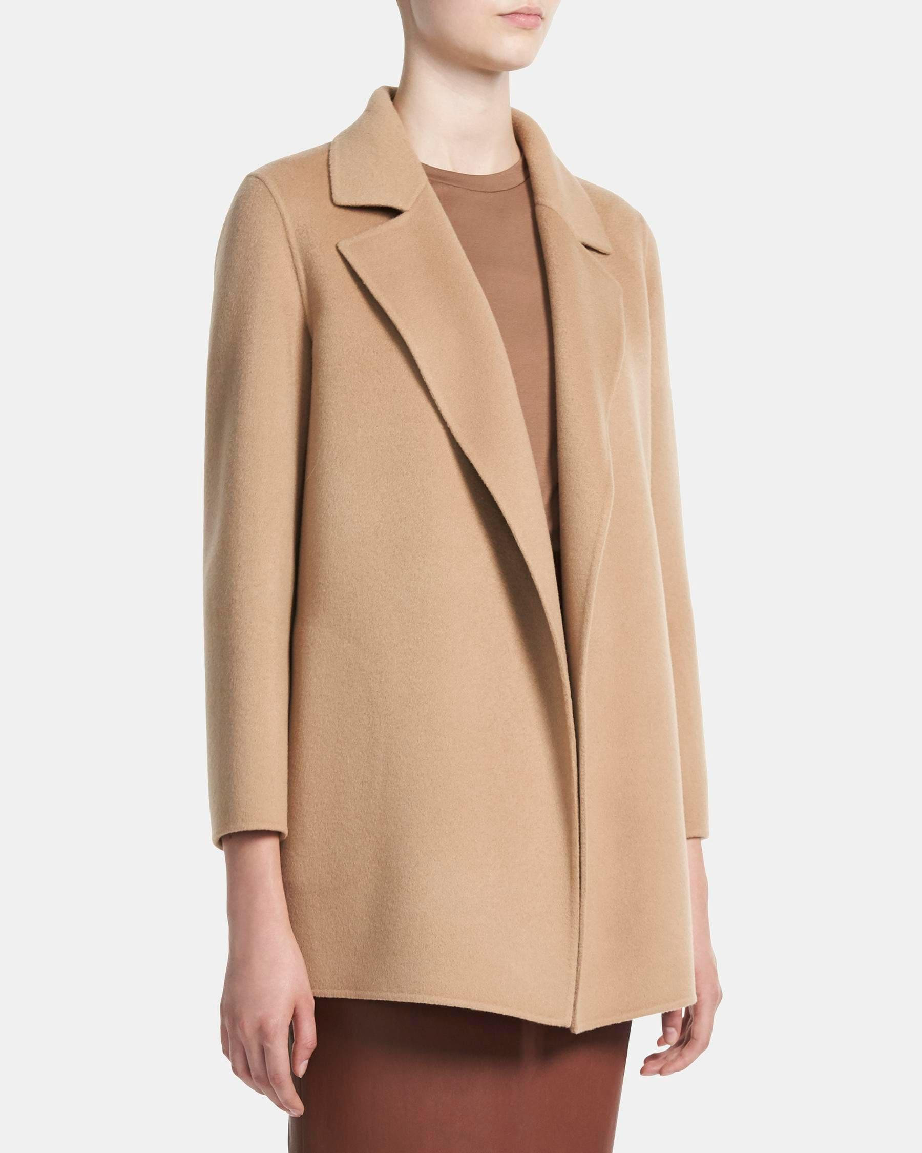 Clairene Jacket in Double-Face Wool-Cashmere 4