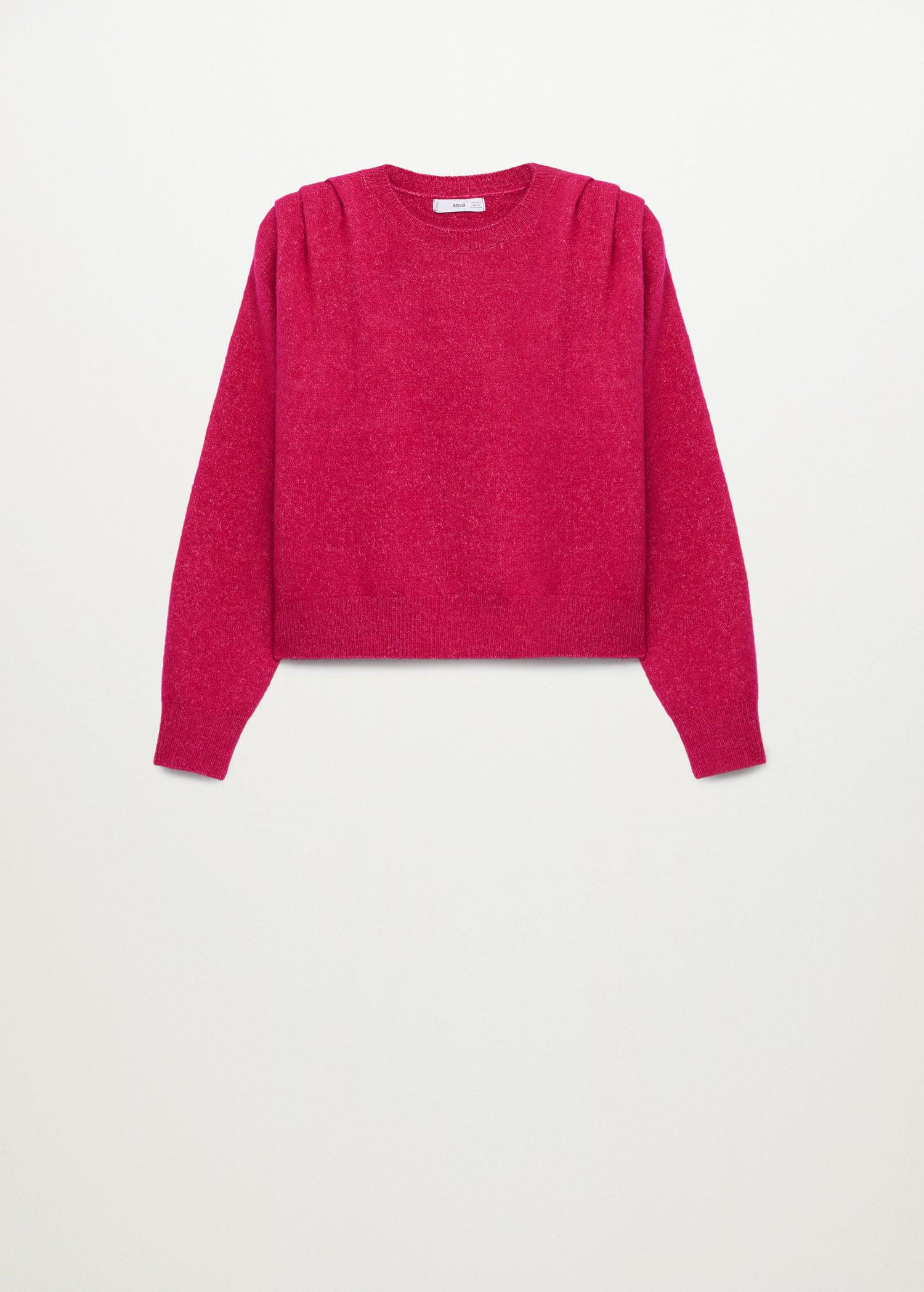 Pleated knit sweater 6