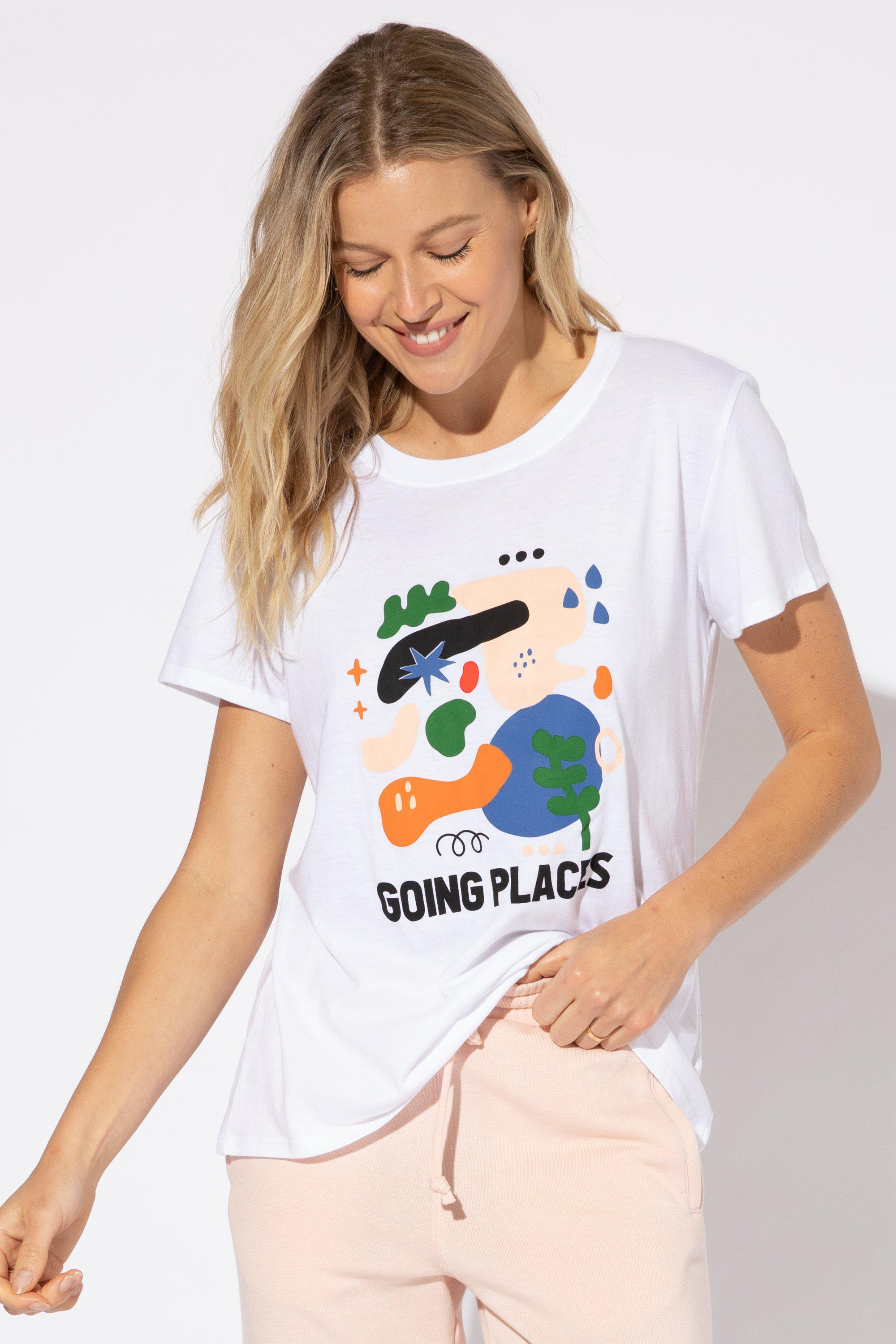 GOING PLACES LOOSE TEE 1