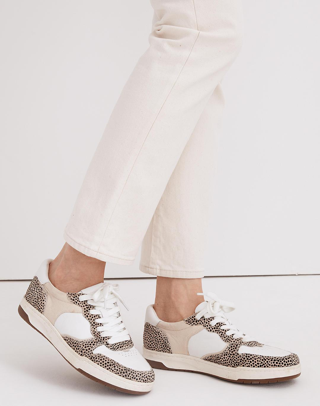 Court Sneakers in Spotted Calf Hair 3