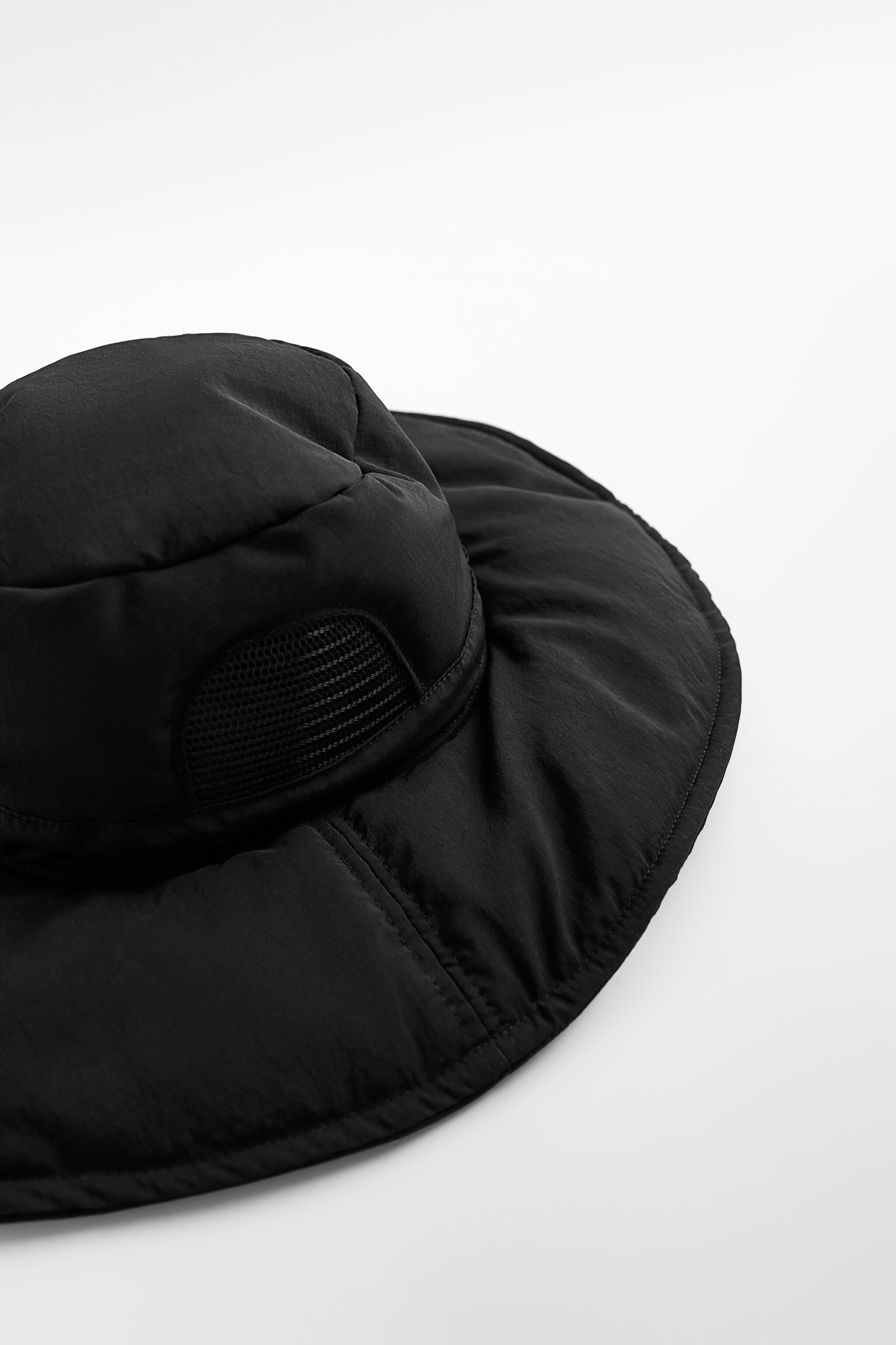 QUILTED BUCKET HAT 5