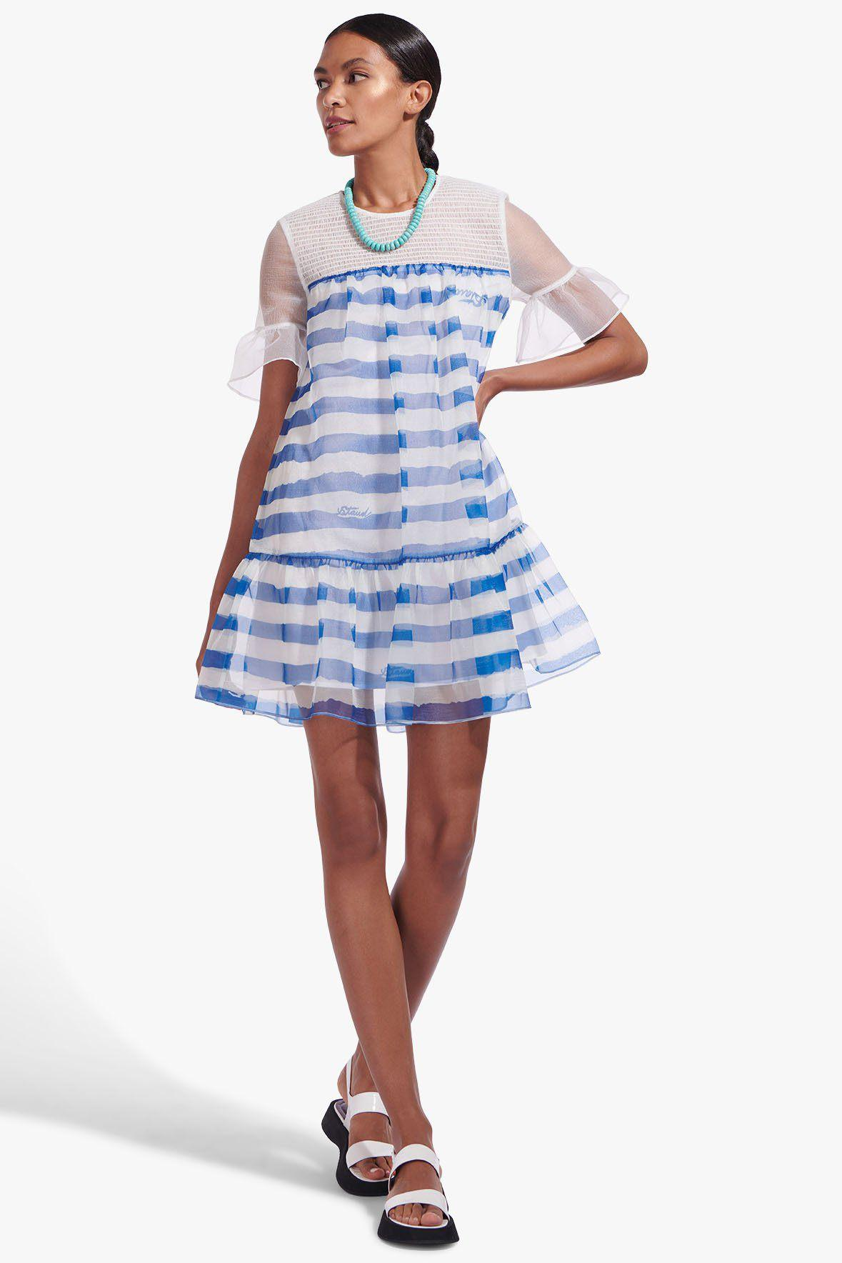 FLORENCE DRESS | PAINTED STRIPE