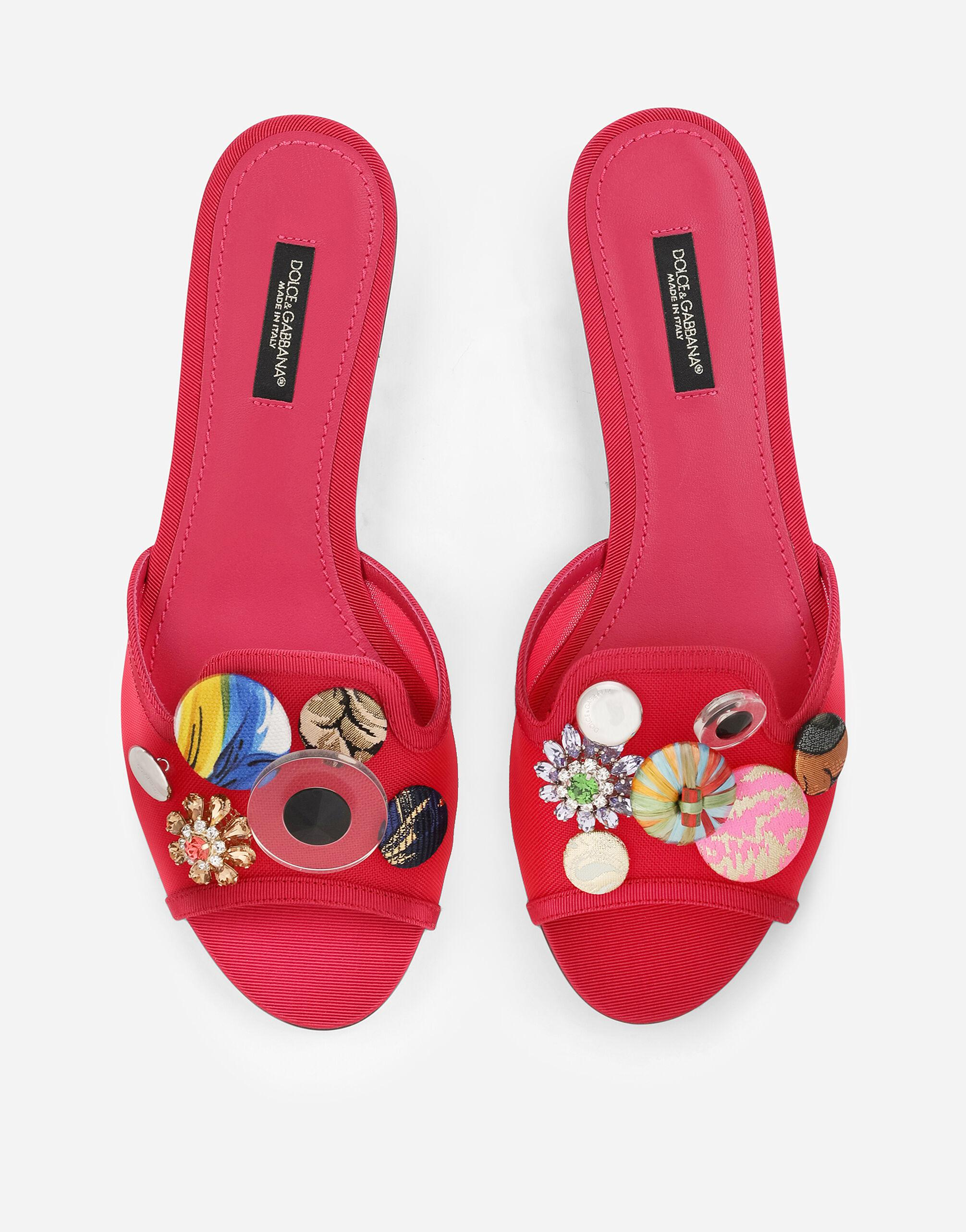 Mesh sliders with bejeweled buttons 3