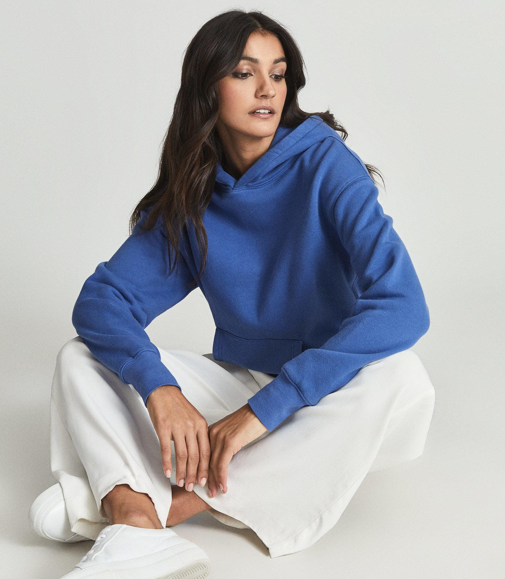 ANDIE - COTTON JERSEY HOODIE