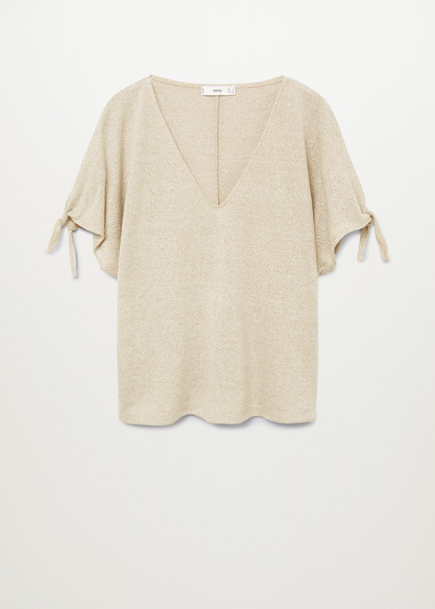 Knotted jersey T-shirt 11