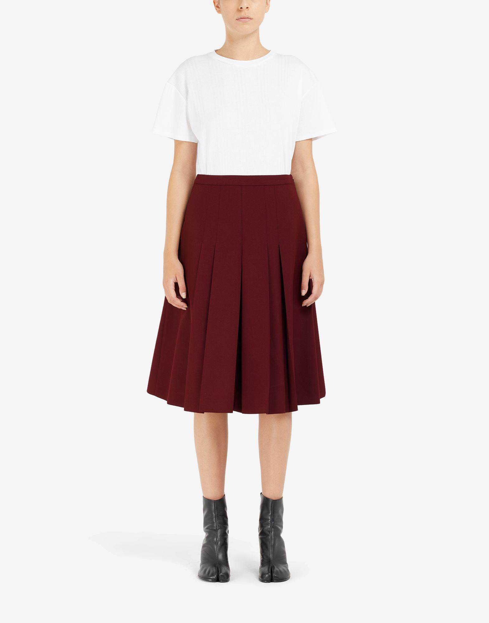 'Memory of' pleated culottes