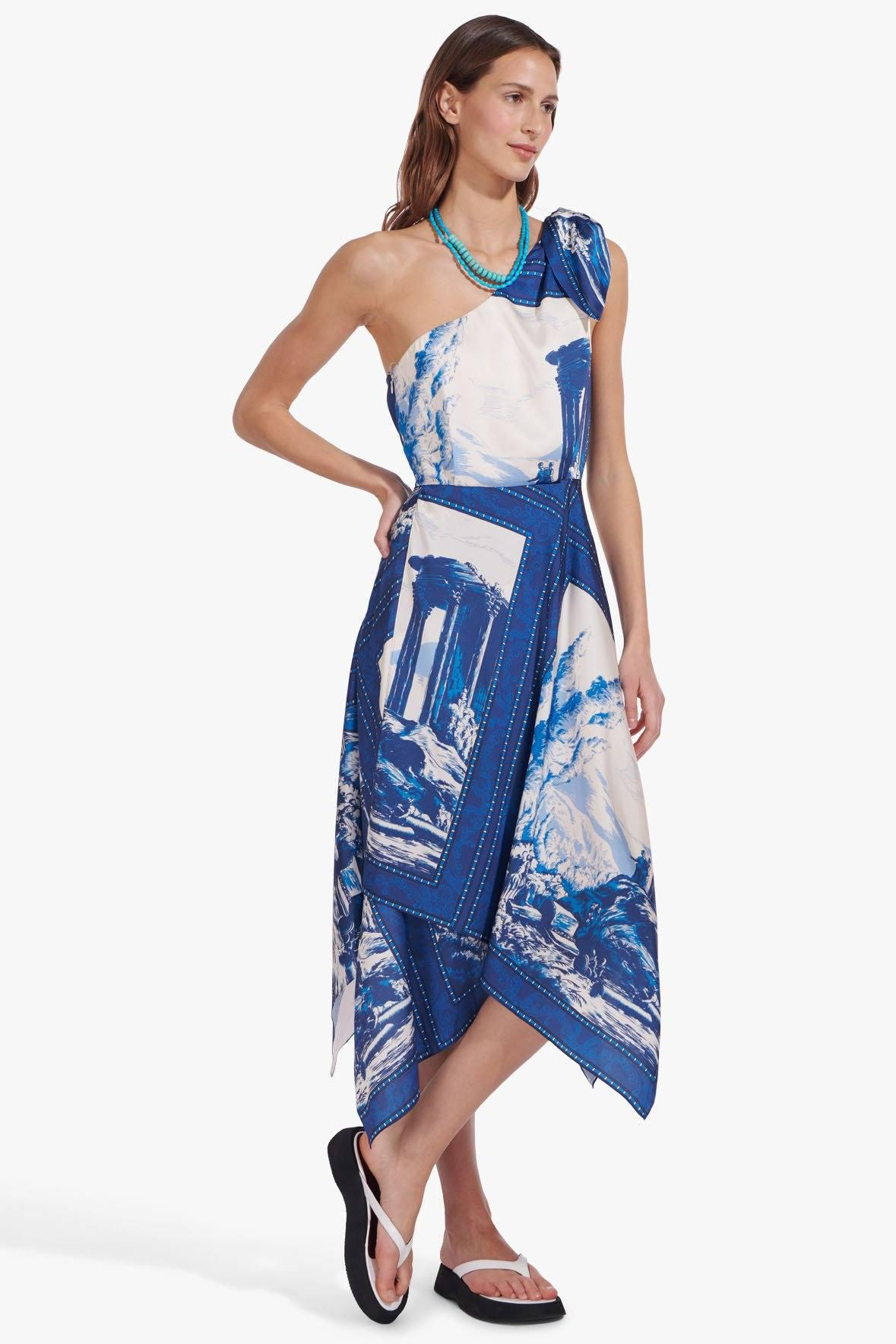 ABYSS DRESS | TAPESTRY TWILIGHT