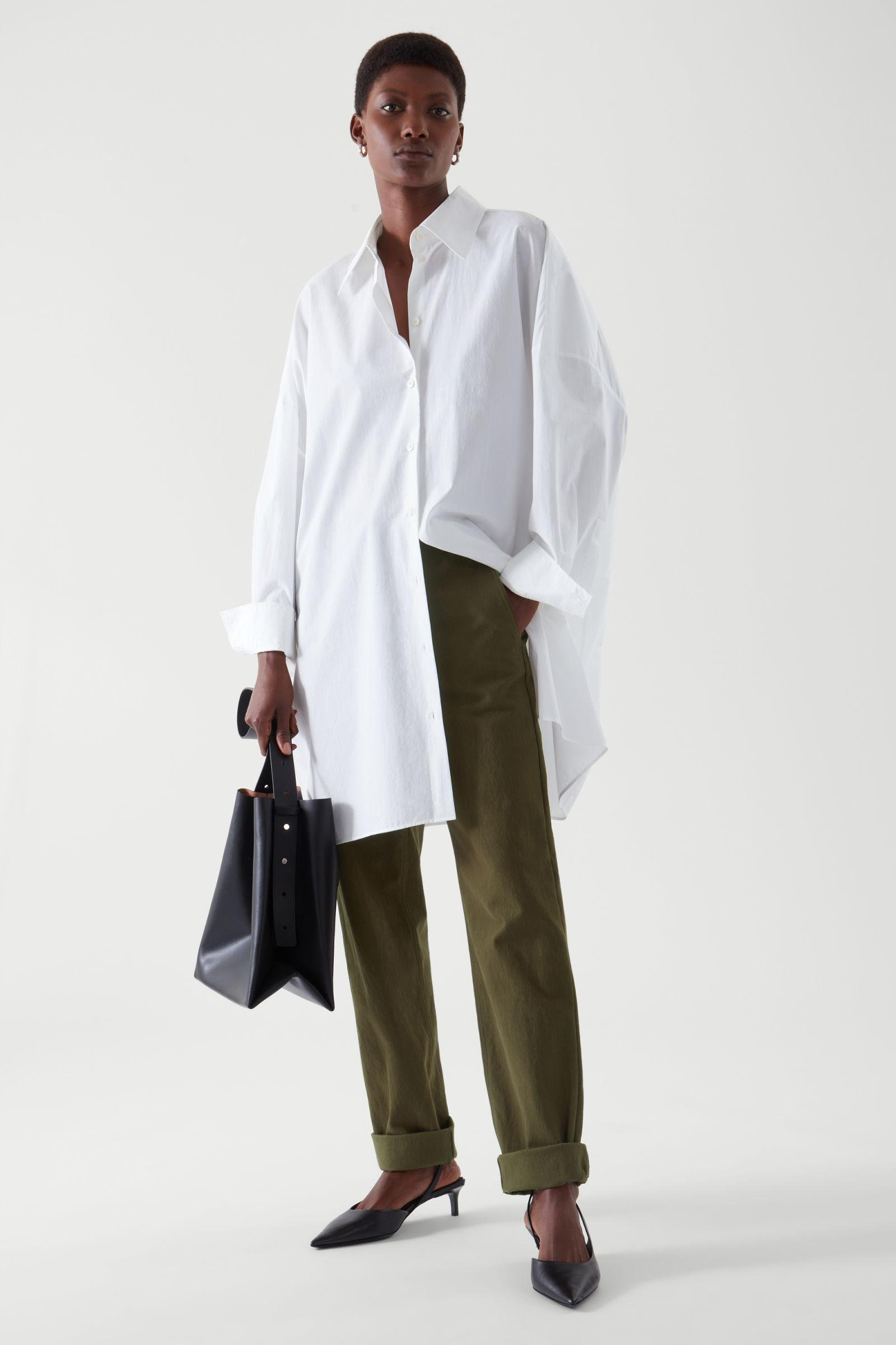 STRAIGHT-FIT CHINOS