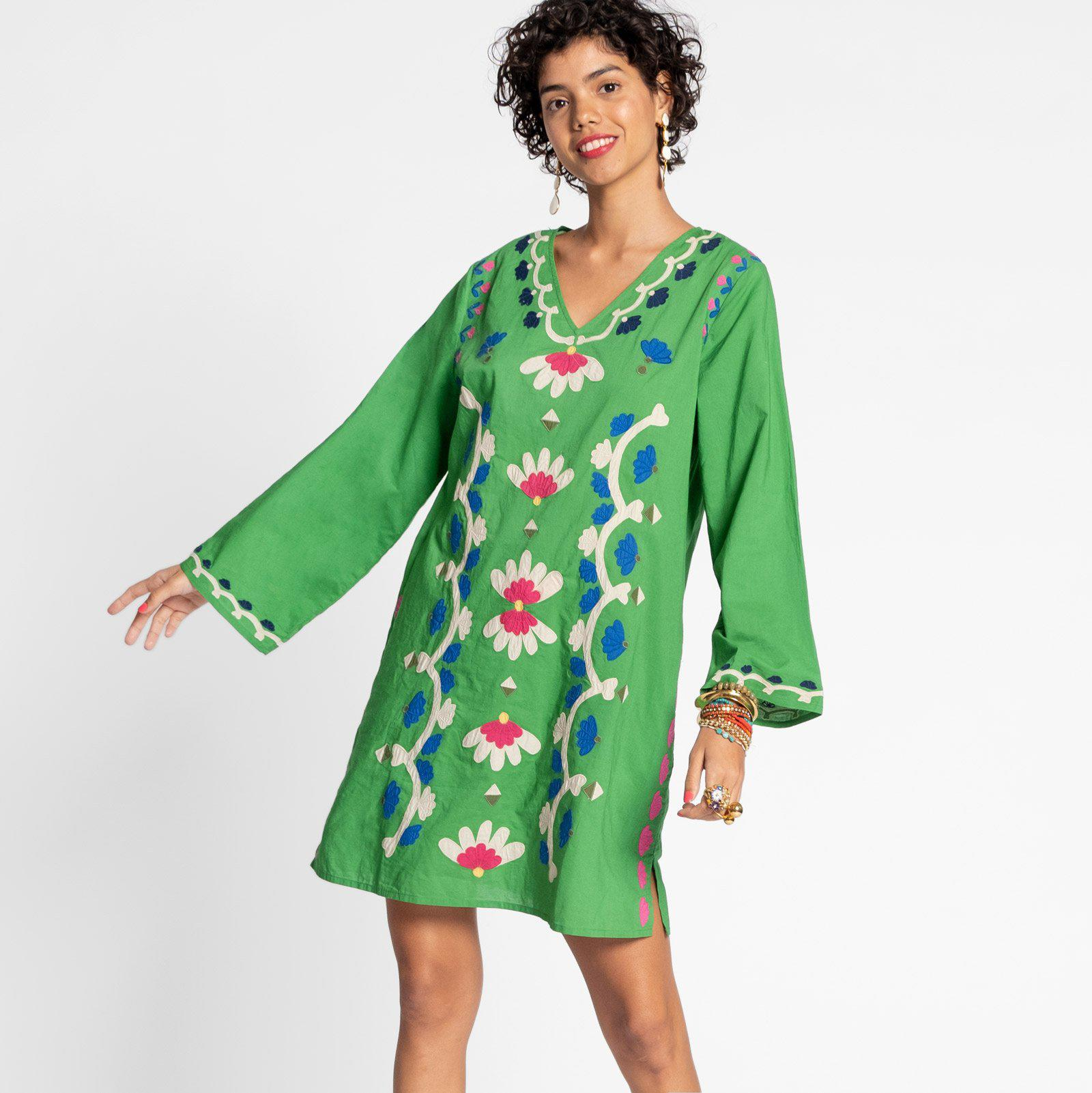 Goldie Tunic Green