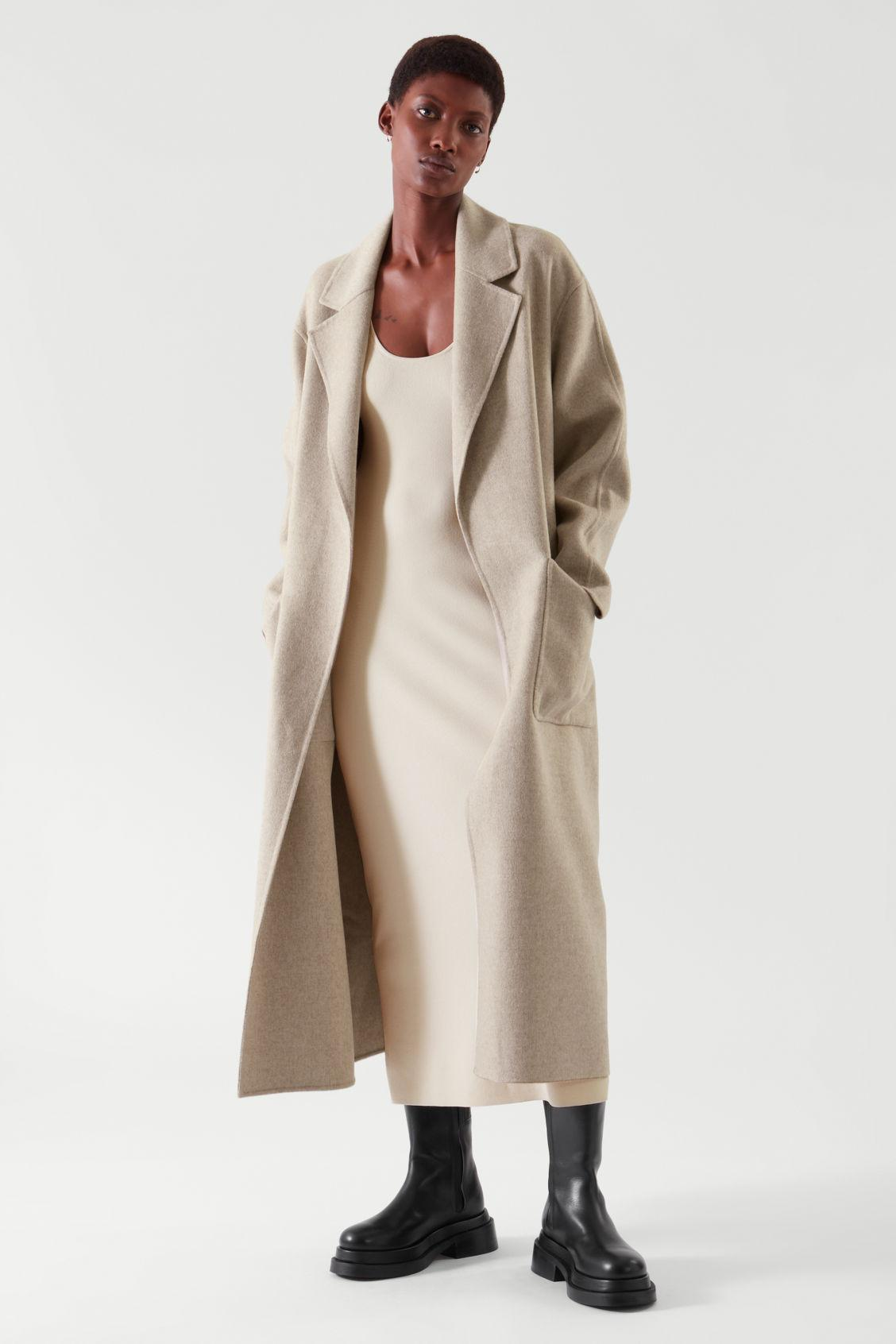 BELTED WRAP COAT 1