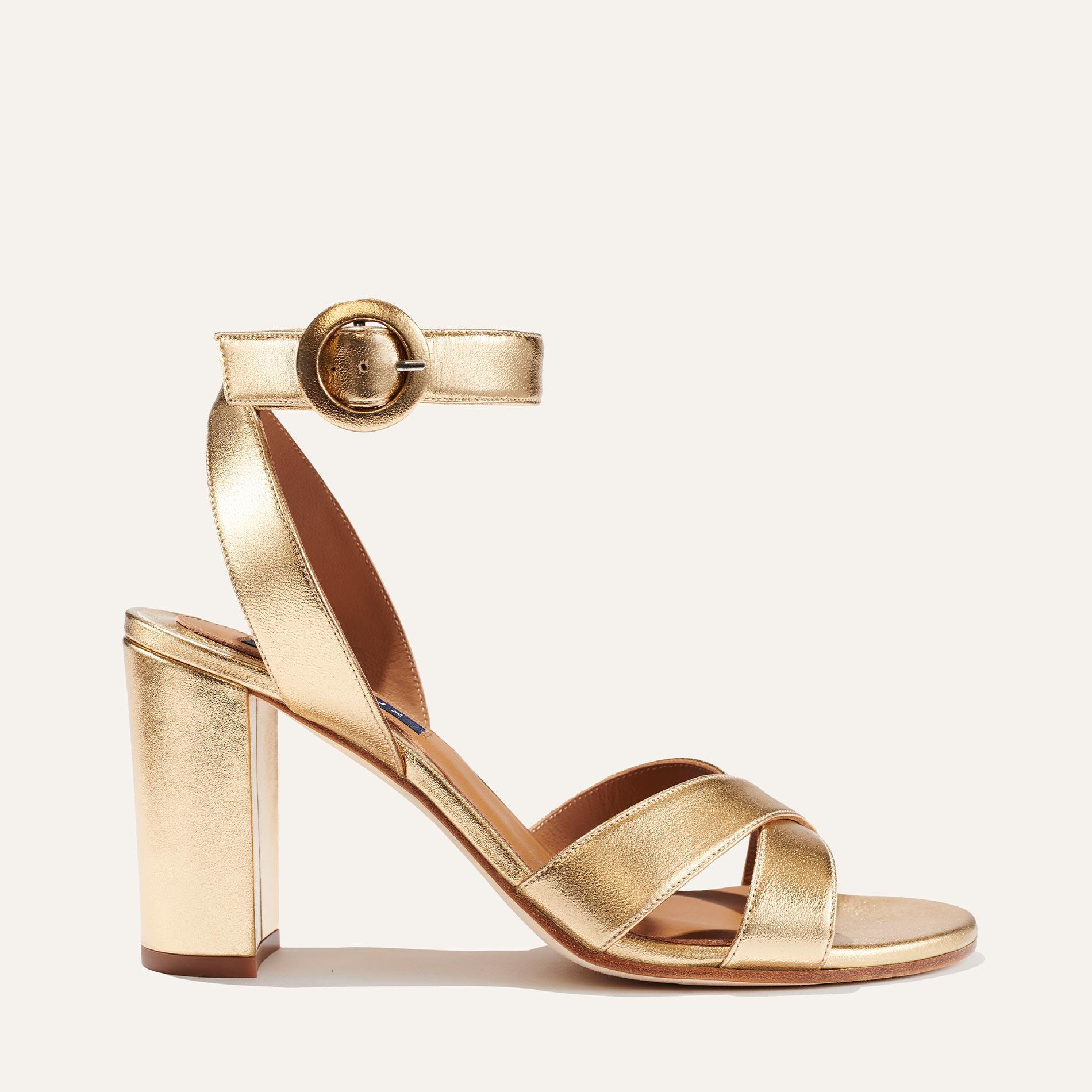 The Uptown Sandal - Gold