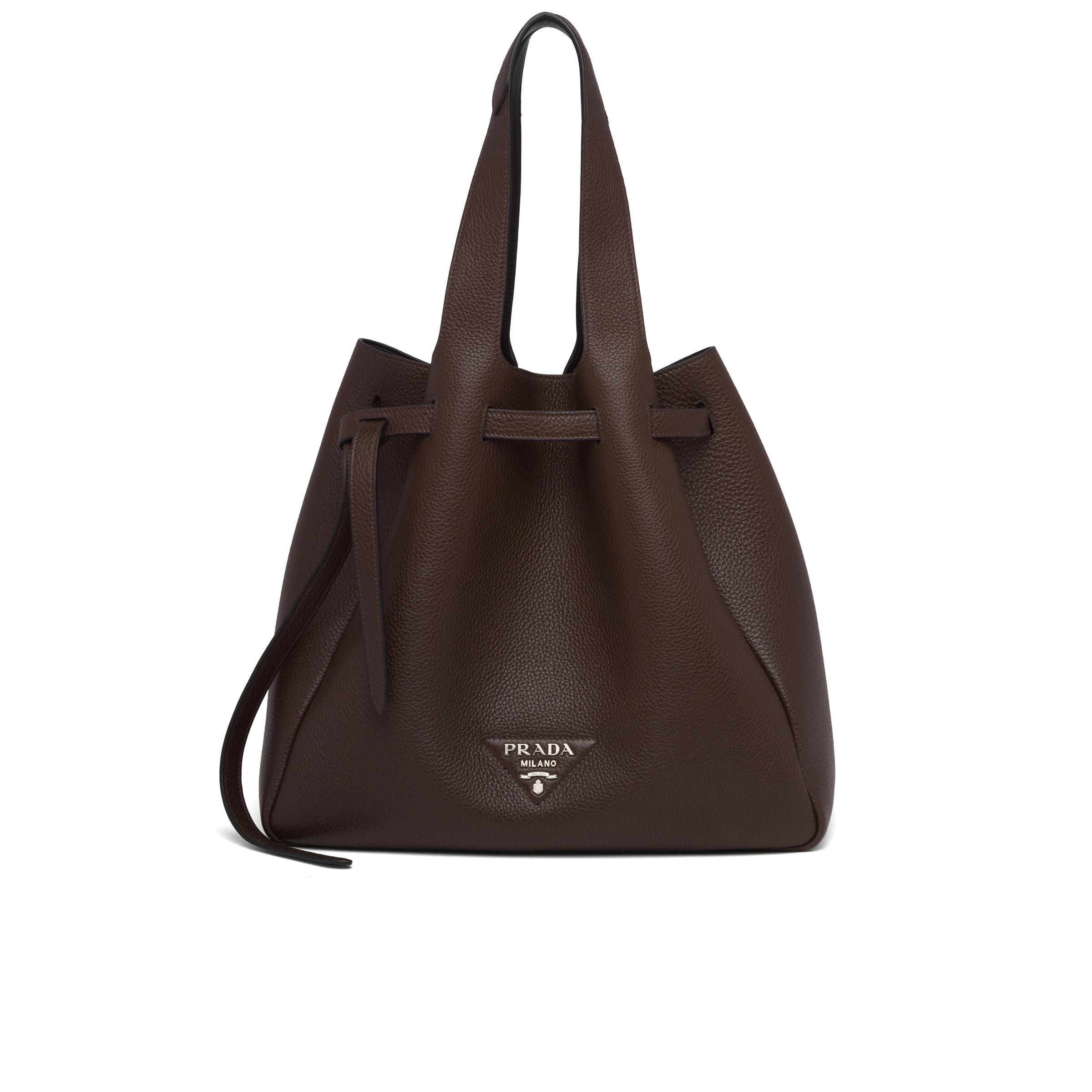 Leather Tote Women Coffee