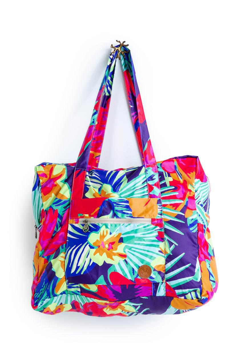 Special Assorted Packable Roll Me Up Tote Bag