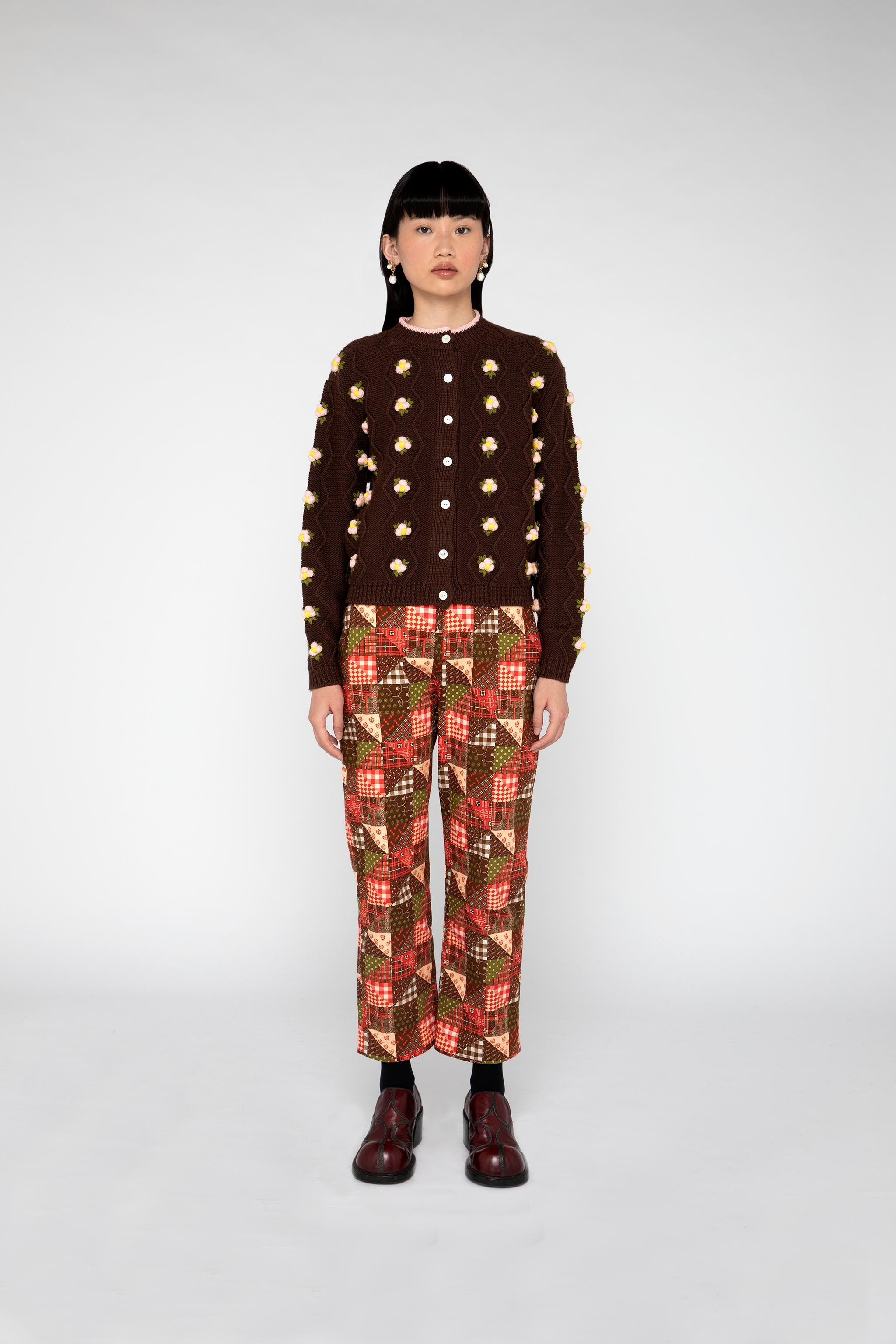 Chester Cardigan - Brown 1